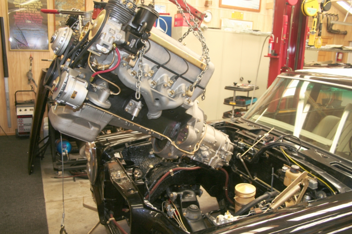 Grand 600 SWB - Engine Transplant