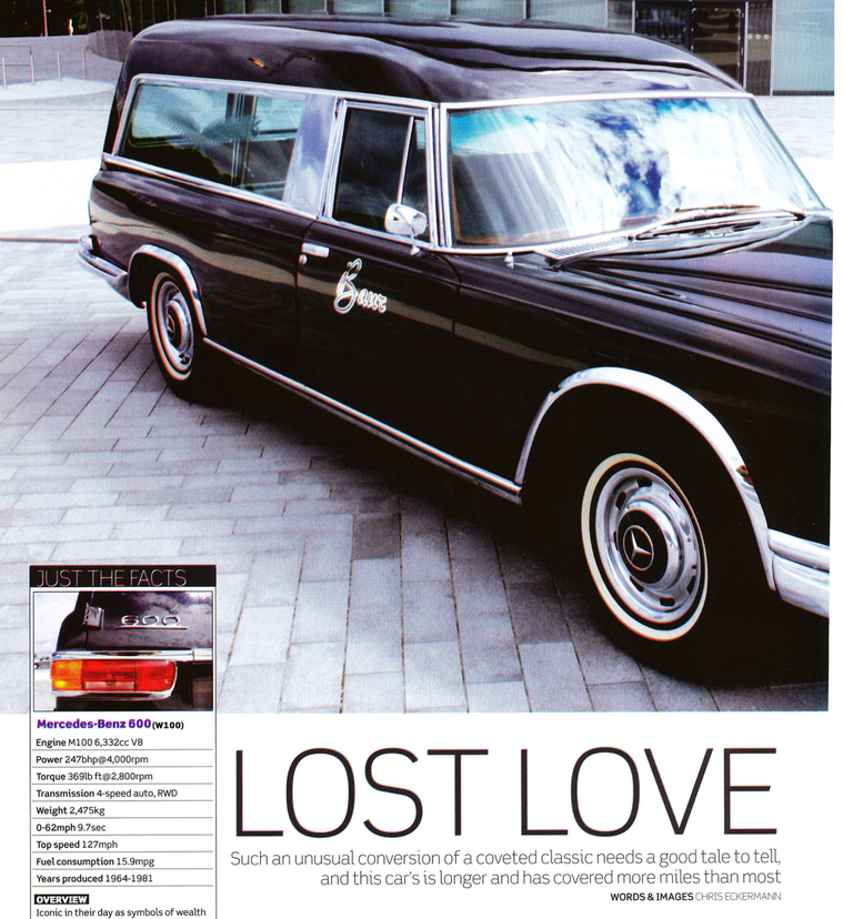 Lost Love ~ A 600 Hearse