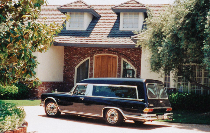 USA Test Drive in MB600 Funeral Car