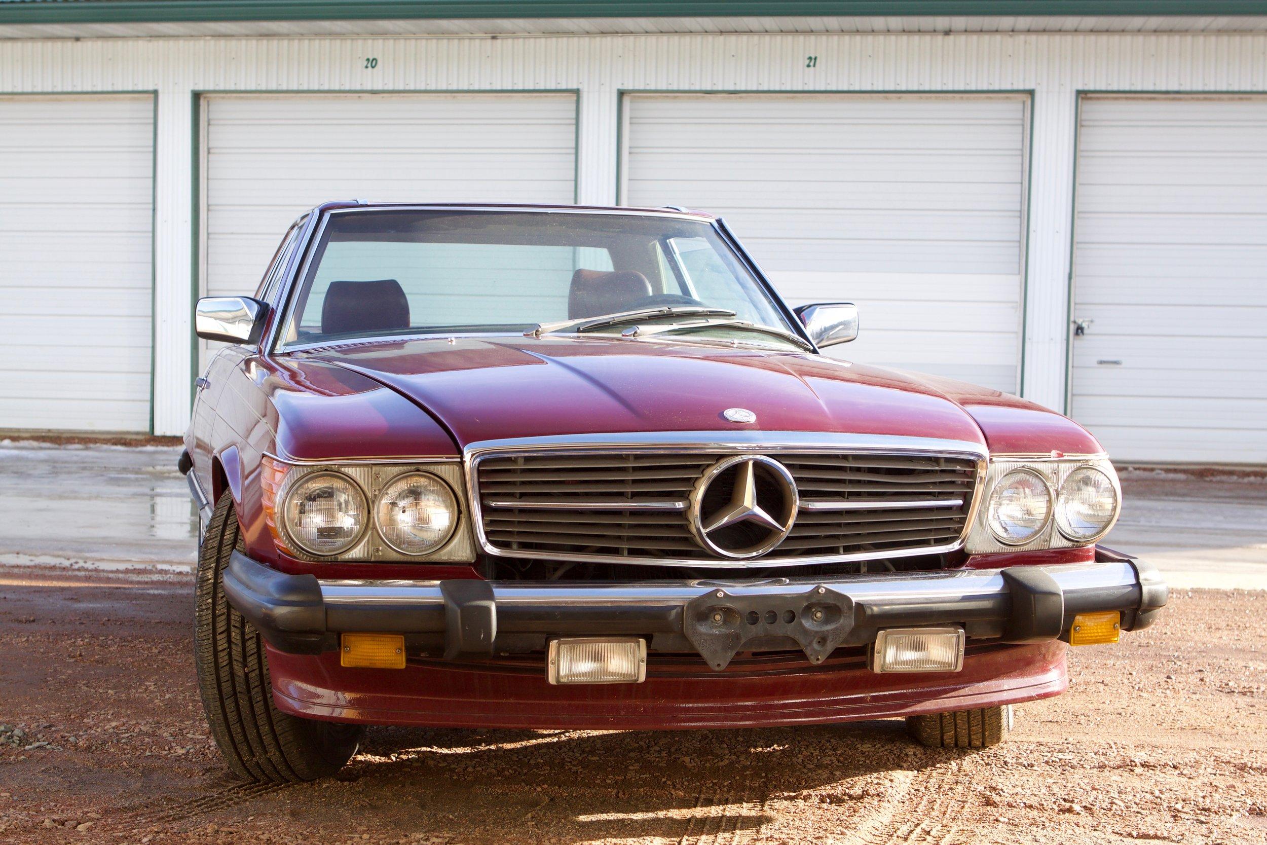 MB Burgundy 560SL  - 11.jpg
