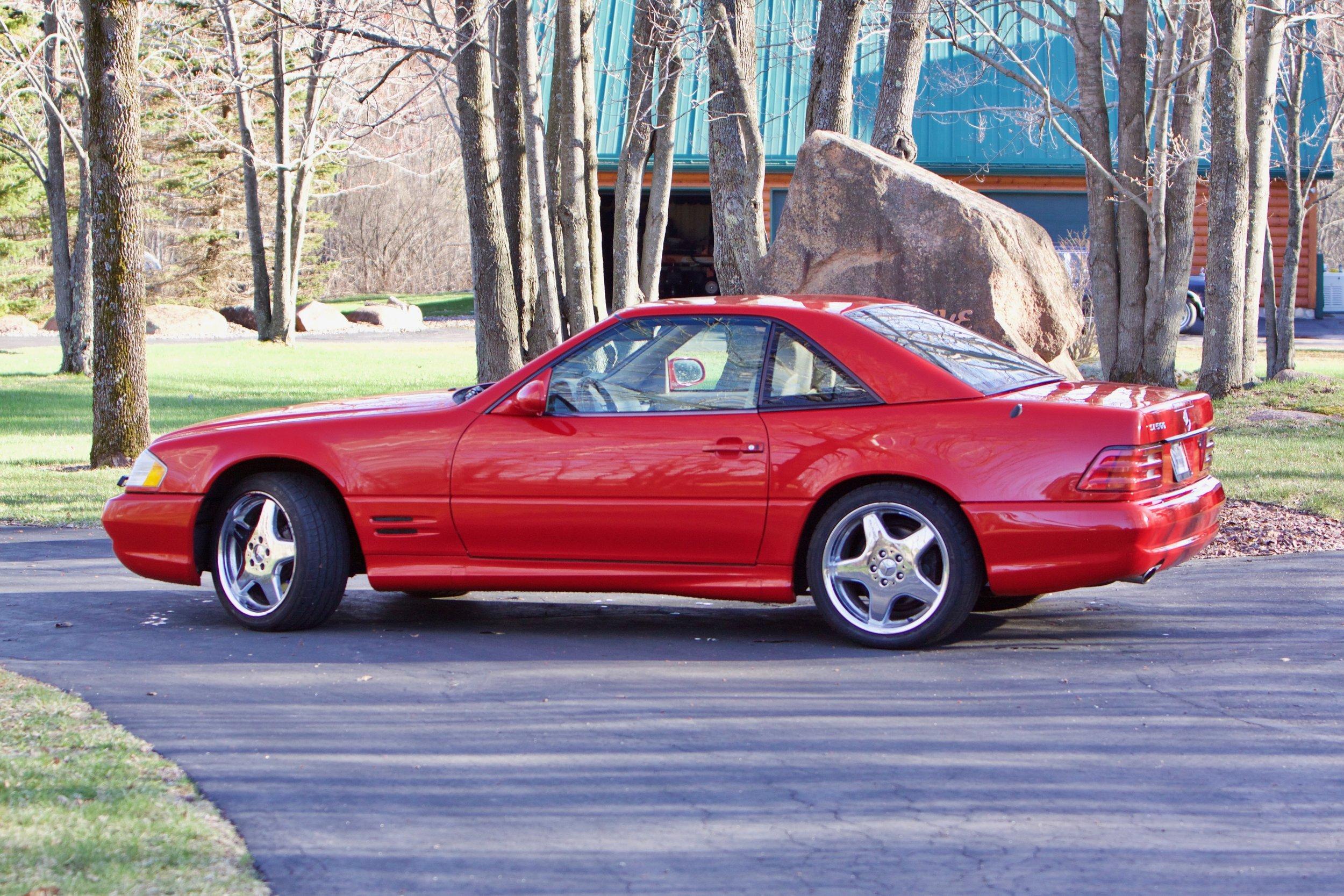 2001 500SL AMG