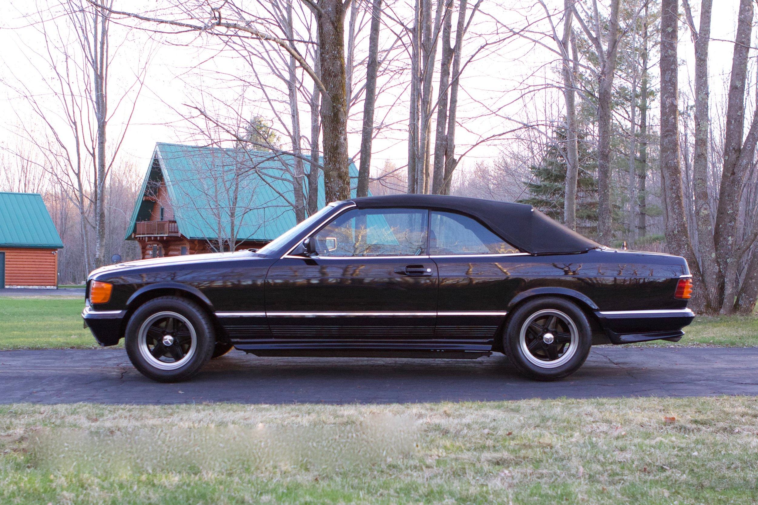 1985 500SEC AMG Convertible