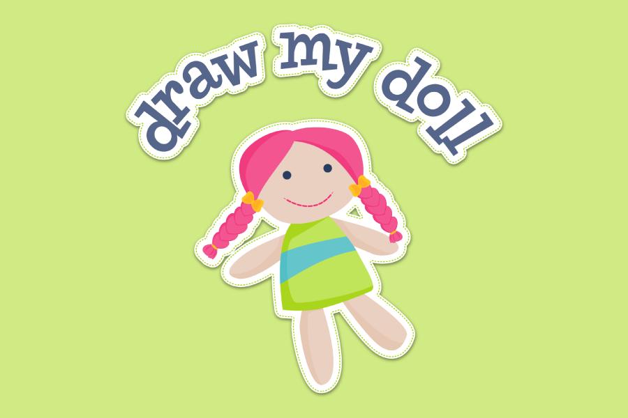 Logo for Draw My Doll