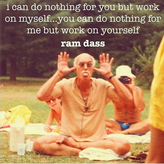 @babaramdass keeping it real