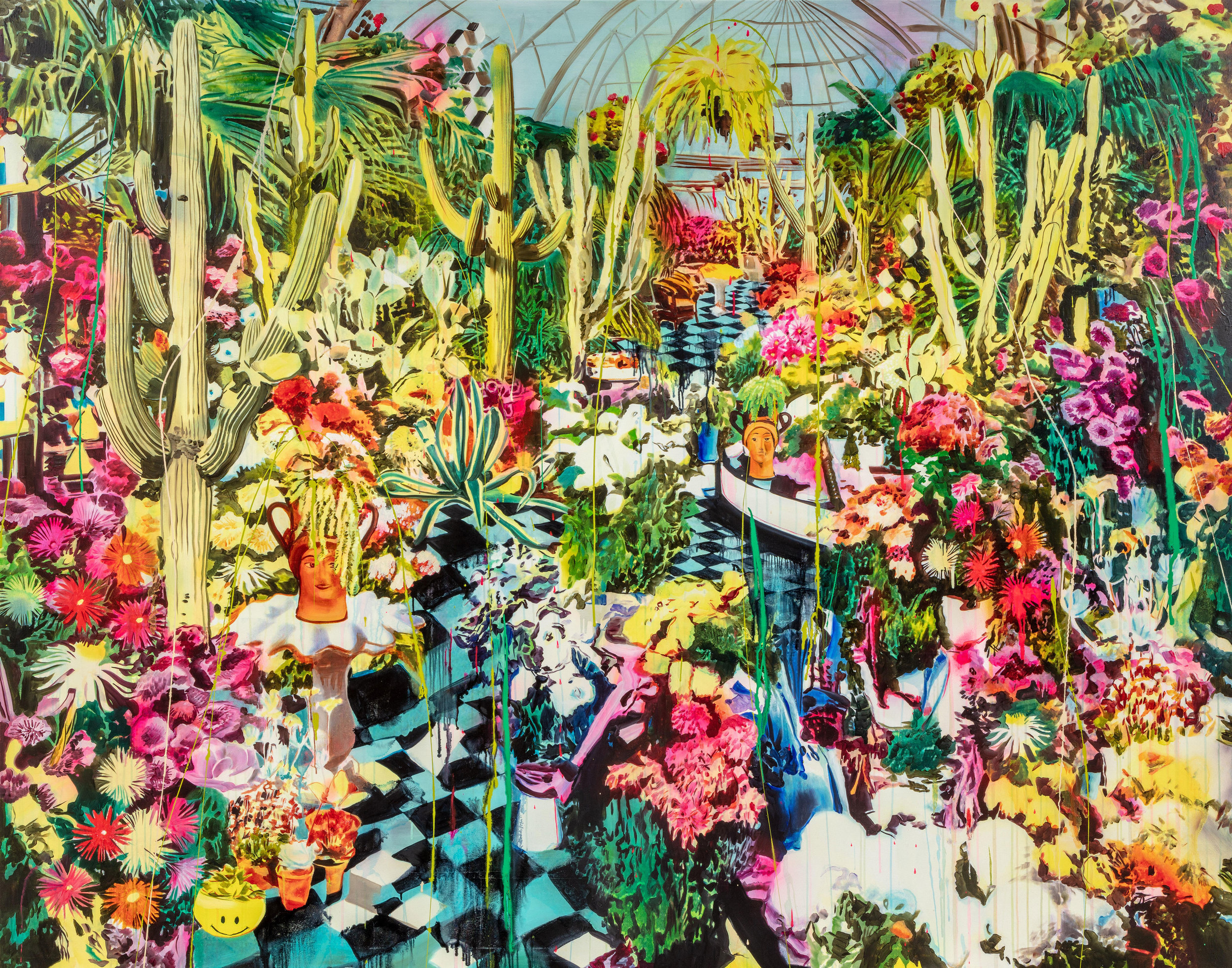 ROSSON CROW,  BELLE ISLE CONSERVATORY , 2018   COURTESY OF LIBRARY STREET COLLECTIVE