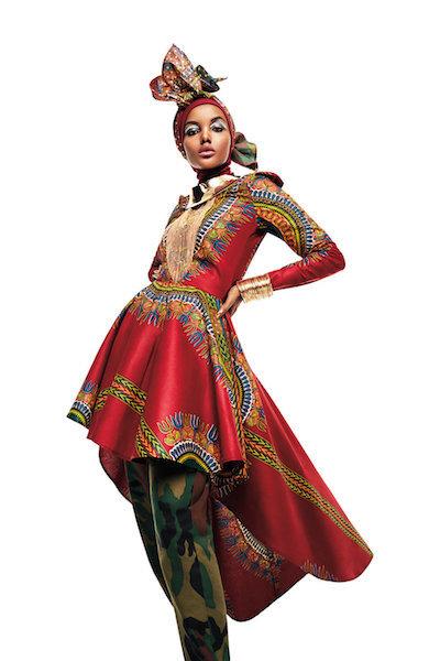 Naima Muhammad for House of Coqueta.  (Sebastian Kim, courtesy of FAMSF)