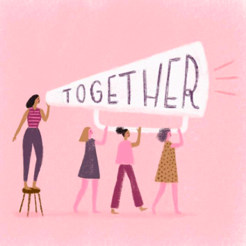 Illustration by artist  Aura Lewis