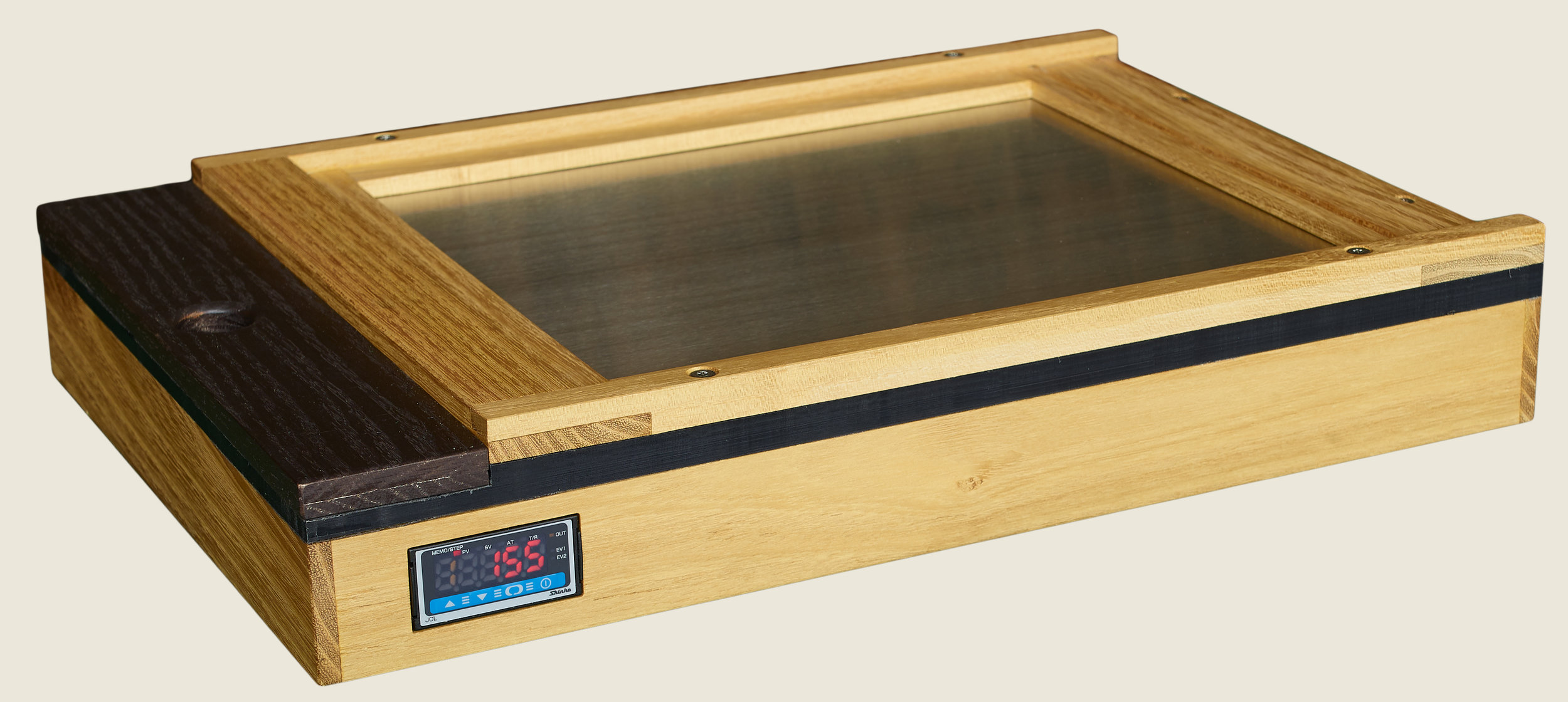 - At left is an 8 x10 model for use with a standard Lisco Fidelity film holder.In Teak with a satin oil finish.