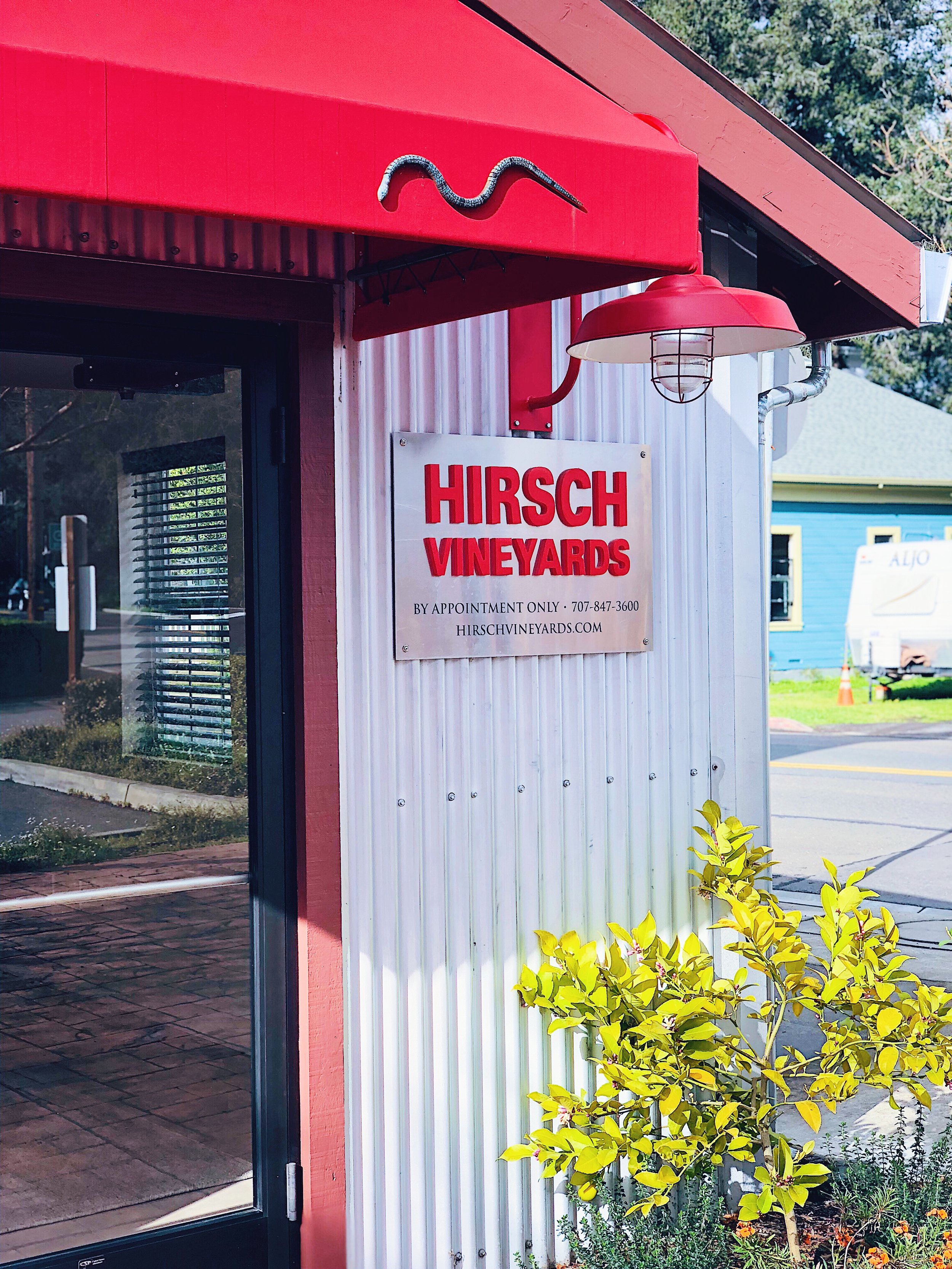 Hirsch Vineyard Tasting Room