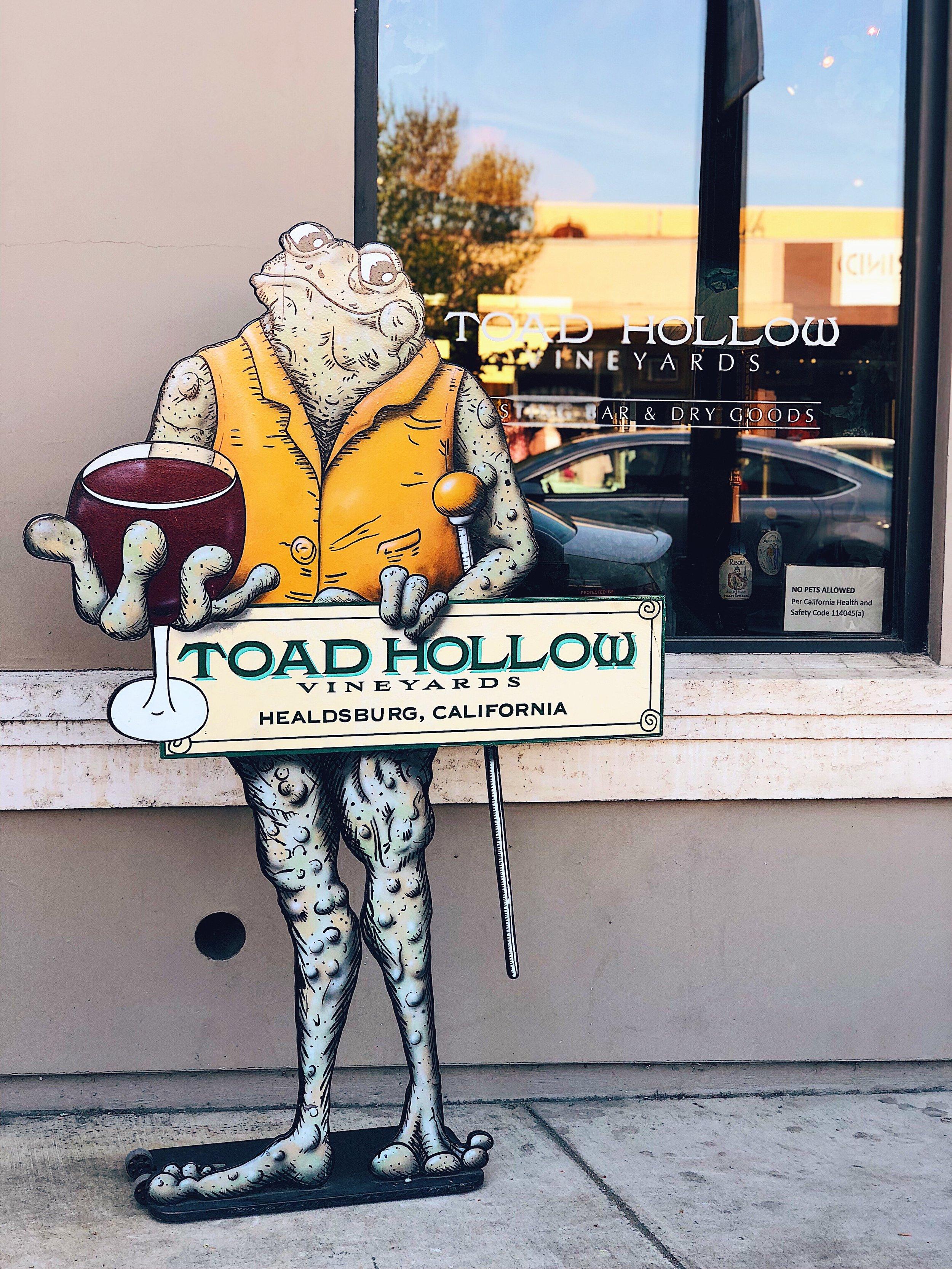 Toad Hollow Winery Healdsburg