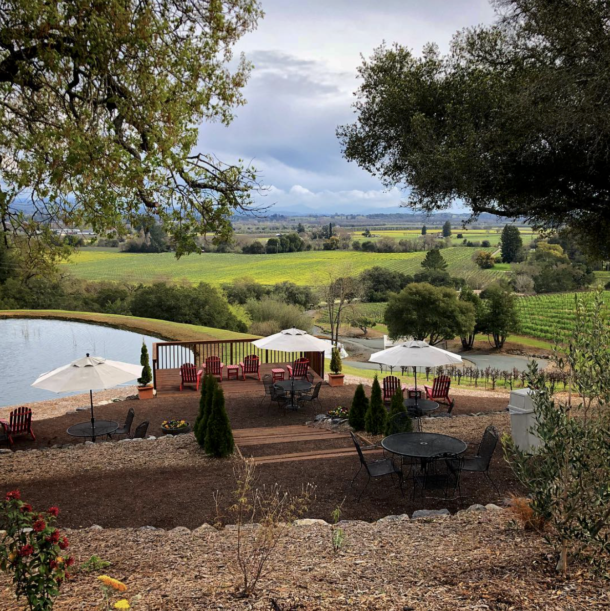 Armida Winery Patio