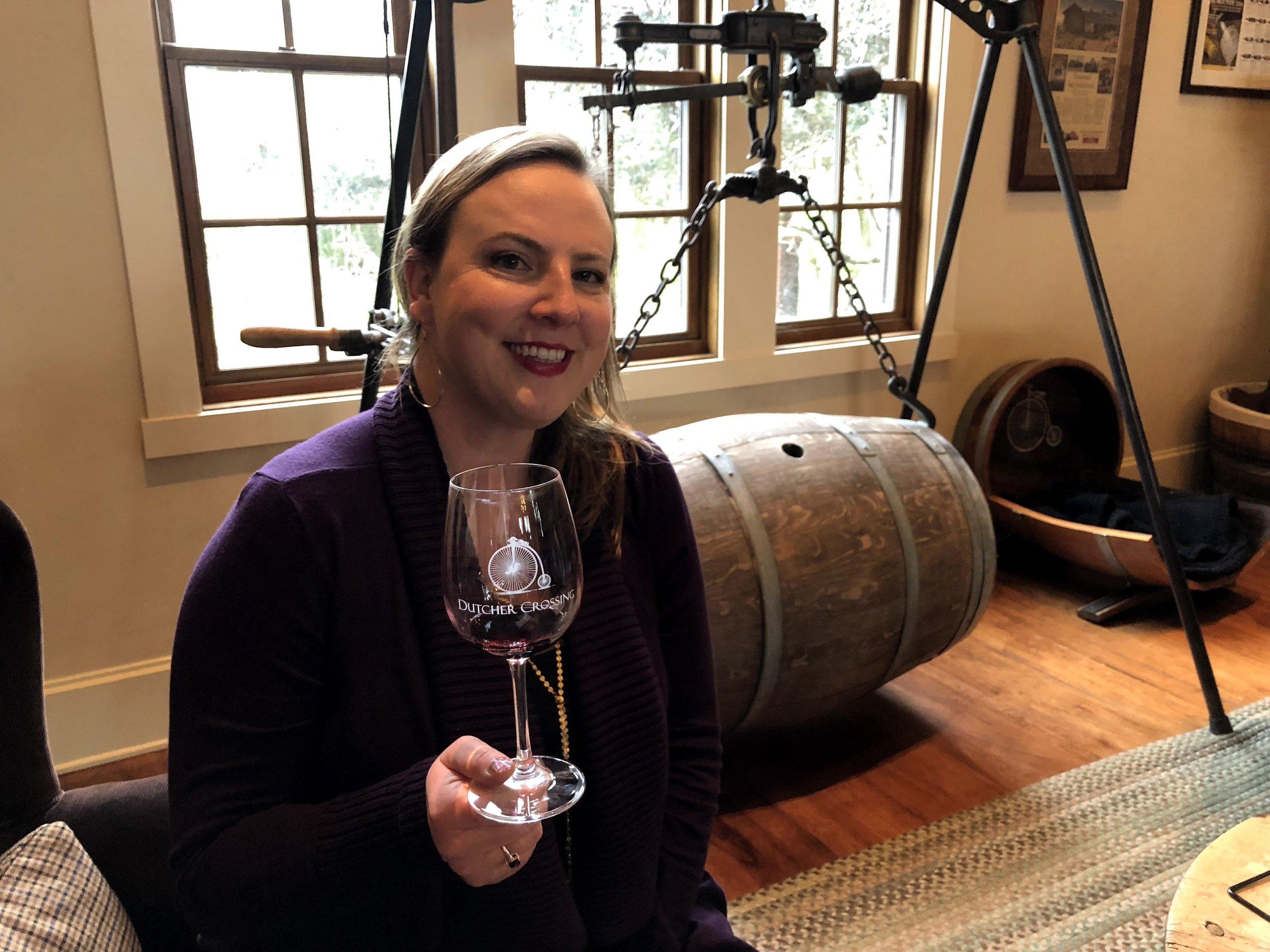 Wine Tasting At Dutcher Crossing