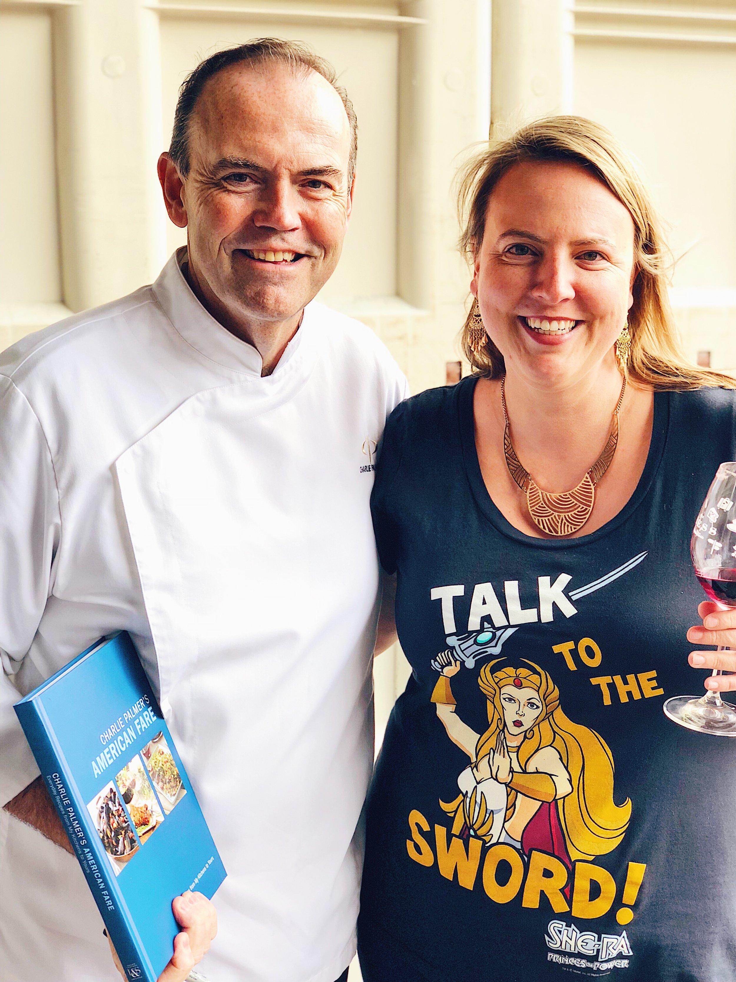 Chef Charlie Palmer At Mauritson