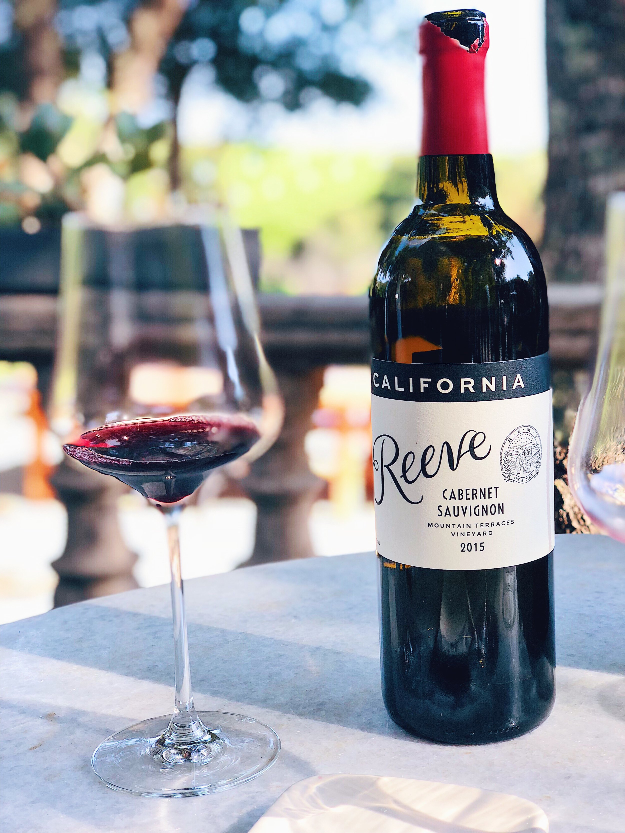 Reeve Wines Cabernet