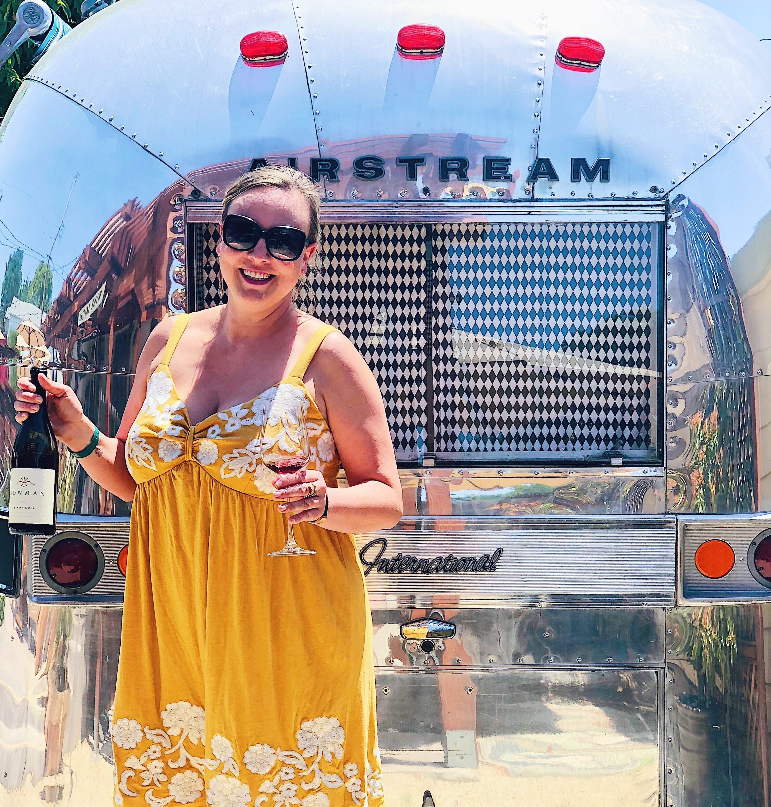 Airstream At Bowman Cellars In Graton