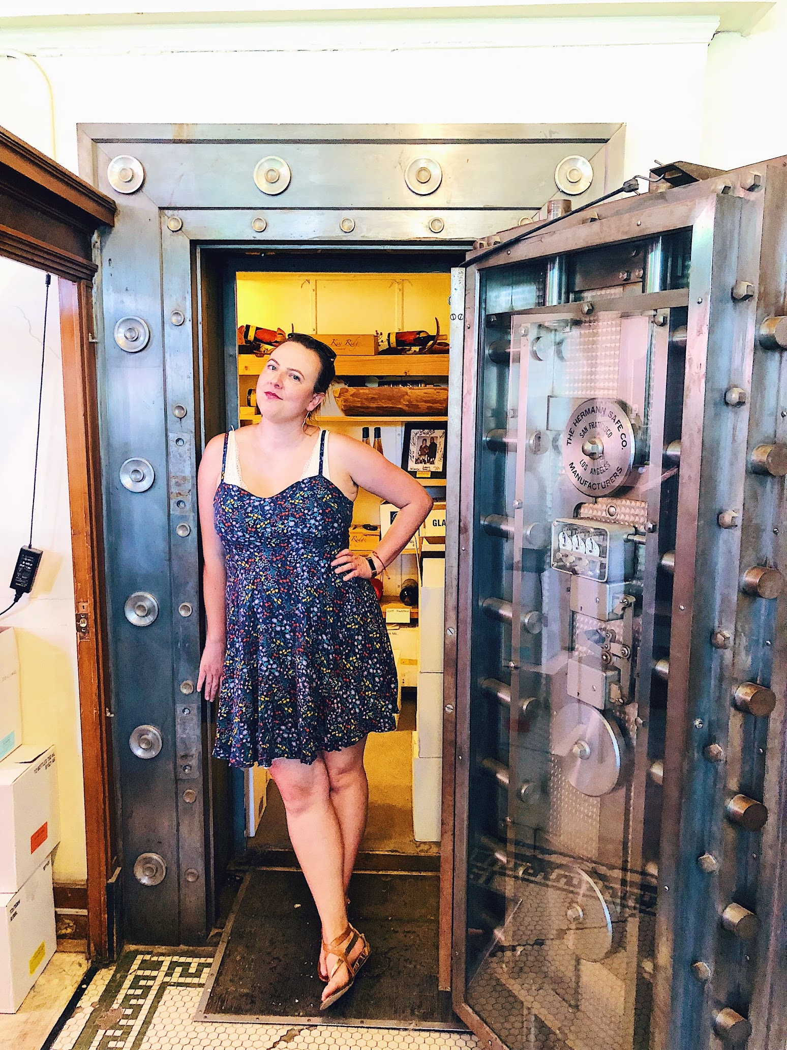 Meeker Bank Vault