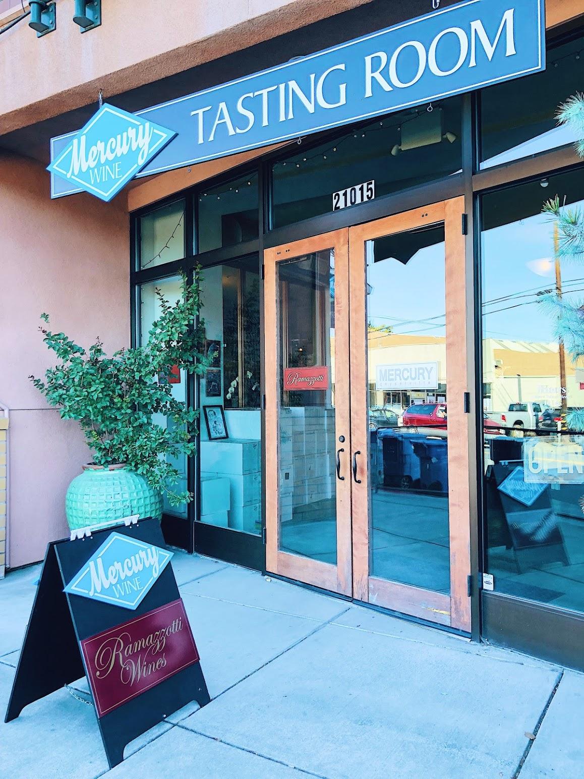 Mercury Wine Tasting Room Geyserville