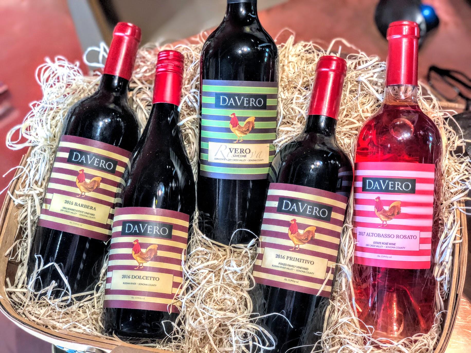 Davero Winery Healdsburg Wine