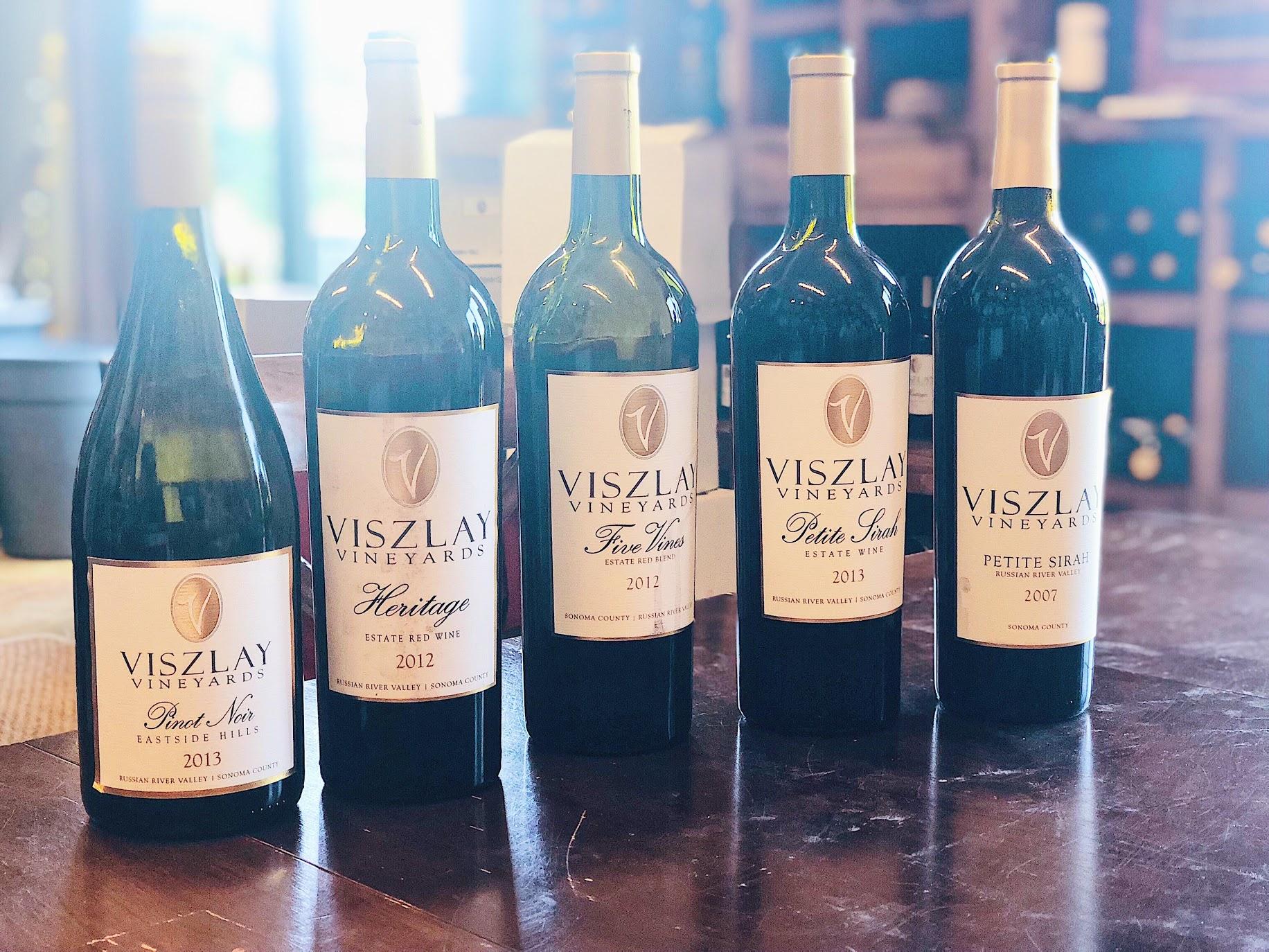 Viszlay Winery Tasting Room