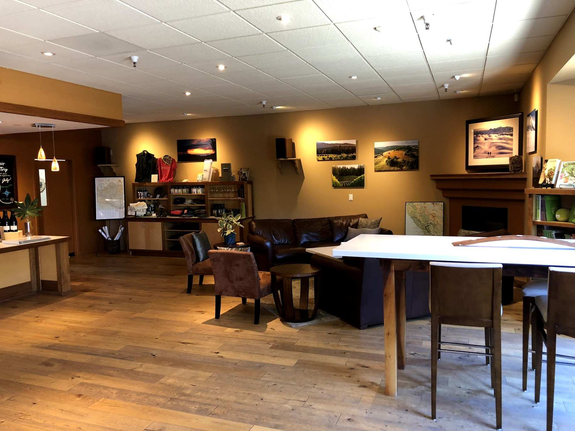Inside Dutton-Goldfield Tasting Room