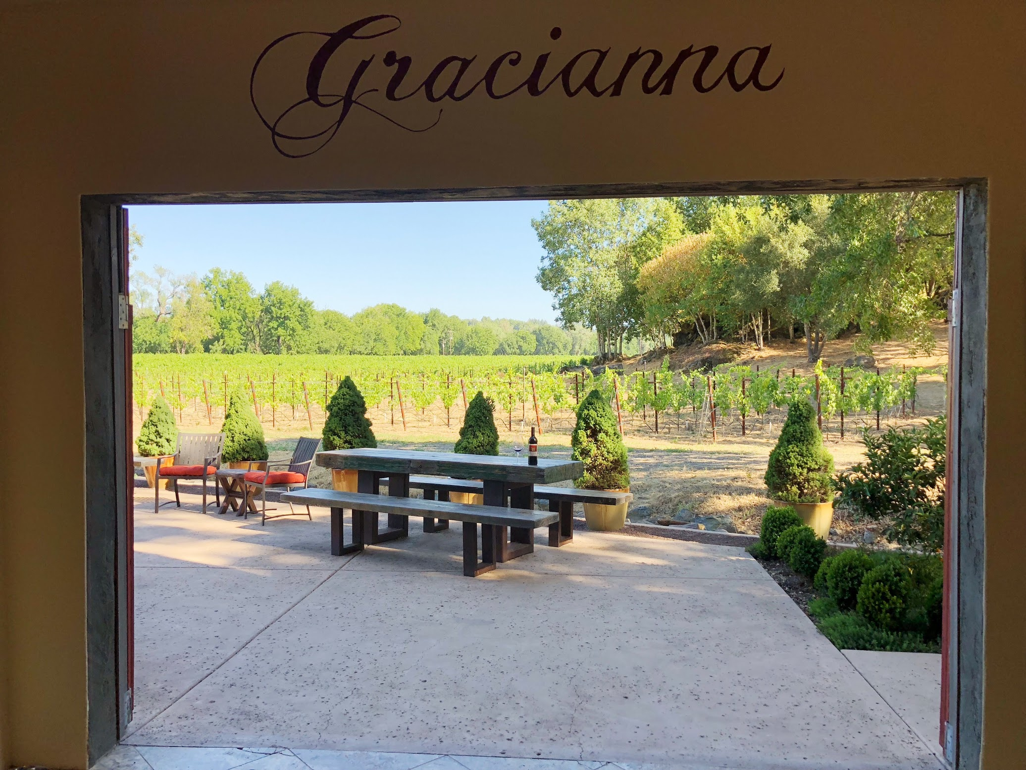 Gracianna Winery Russian River