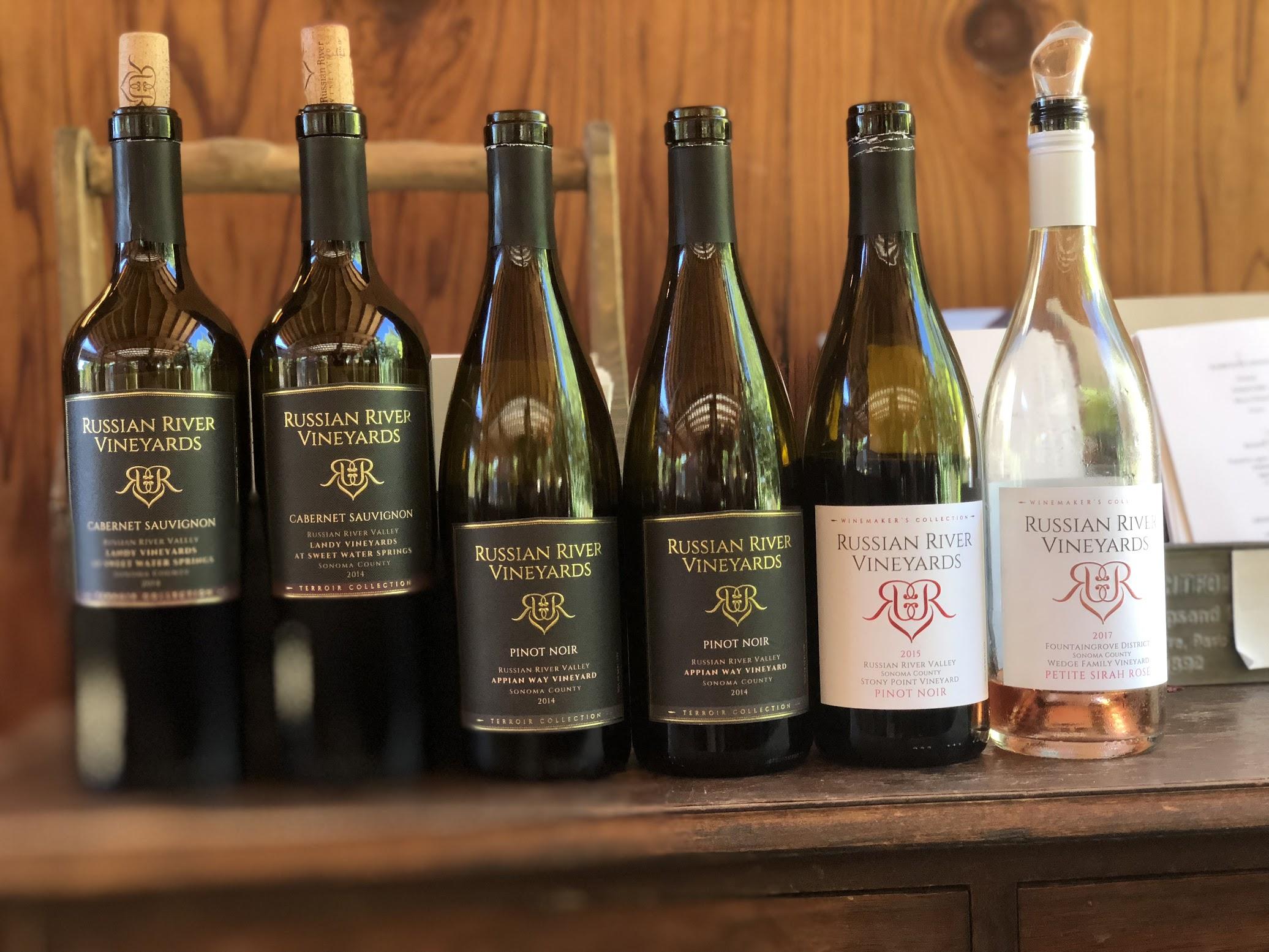 Russian River Vineyards Pinot Noir