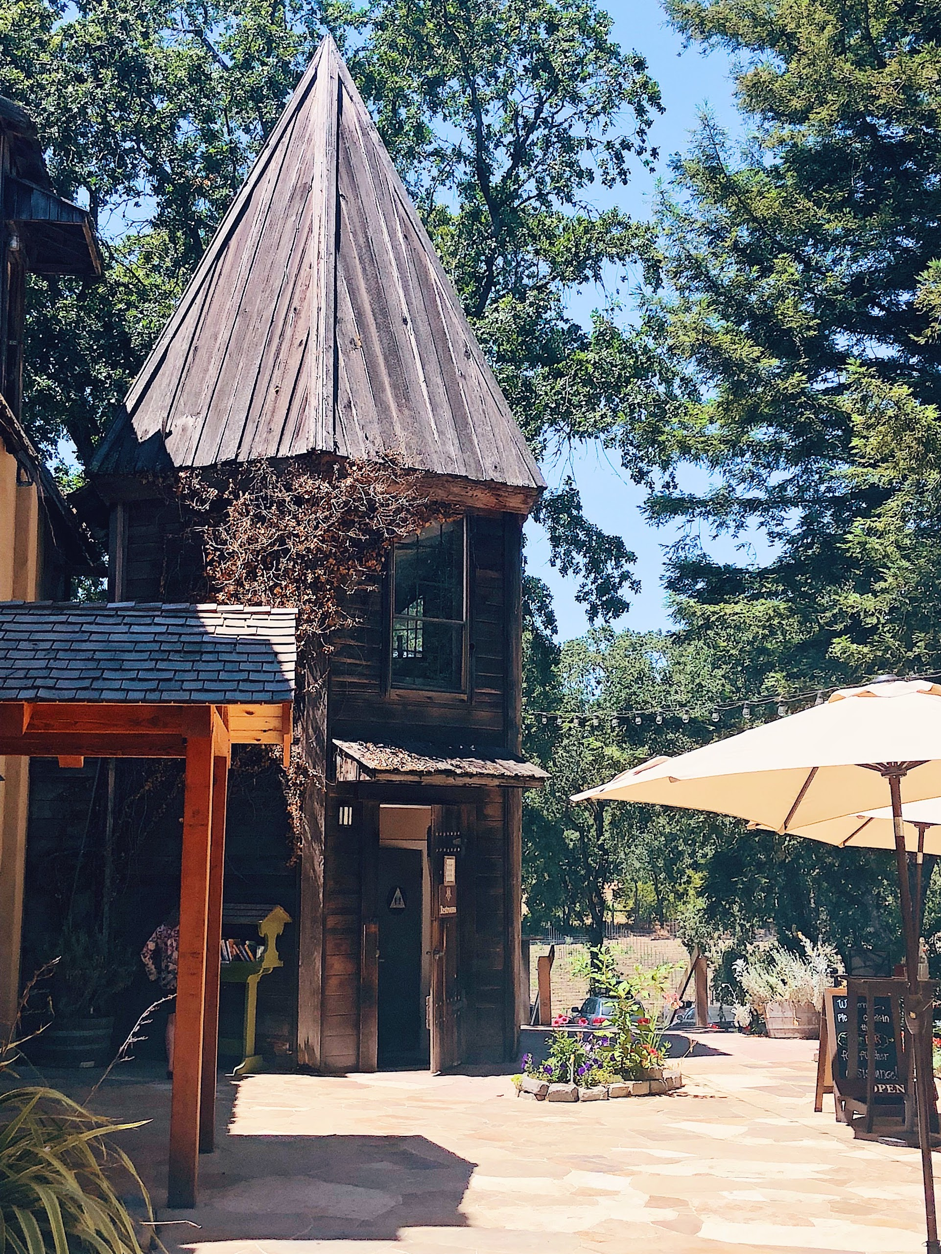 Russian River Vineyards Hop Kiln Architecture