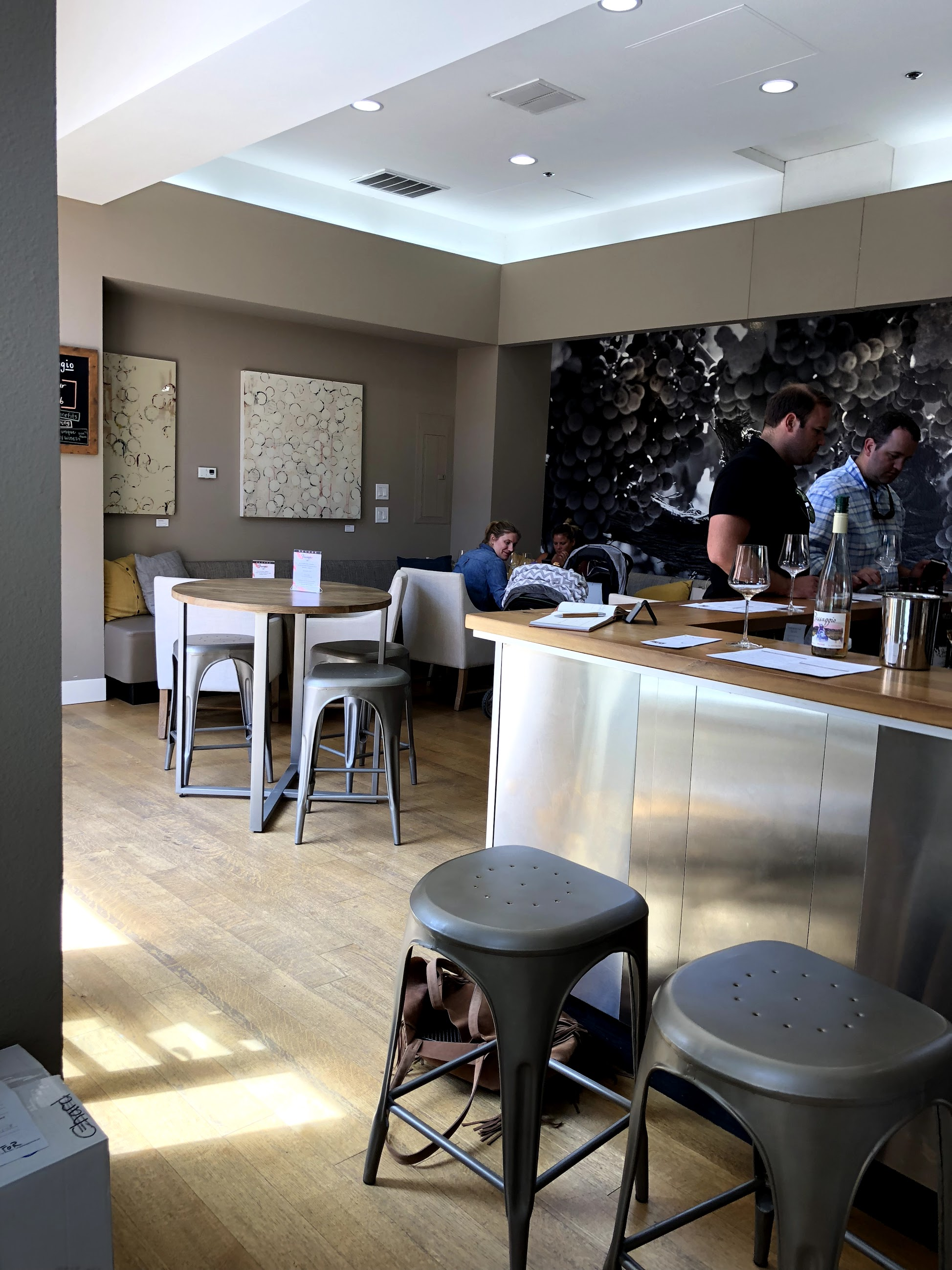 Cynthia Cosco Passagio Wines Tasting Room