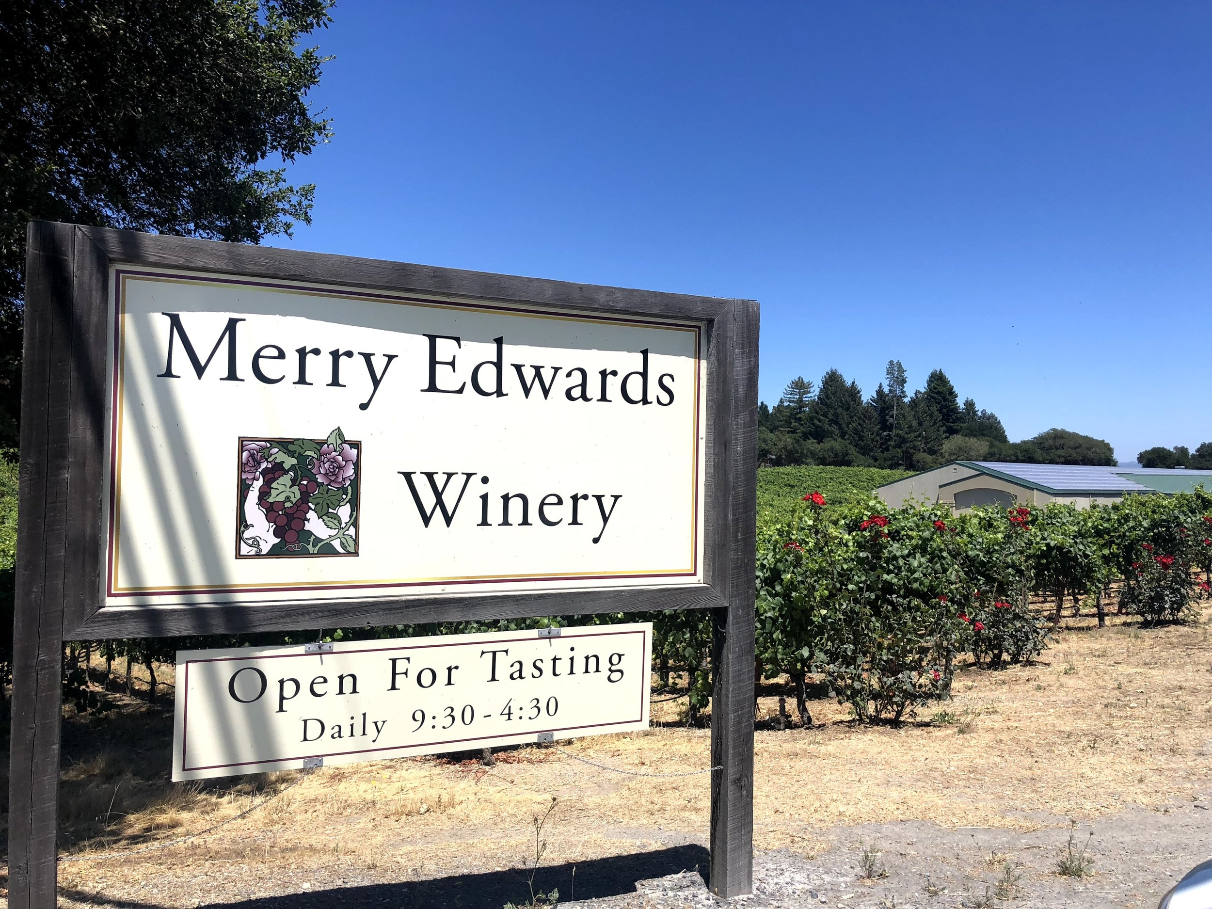 Sonoma Wine Life Tasting At Merry Edwards Winery