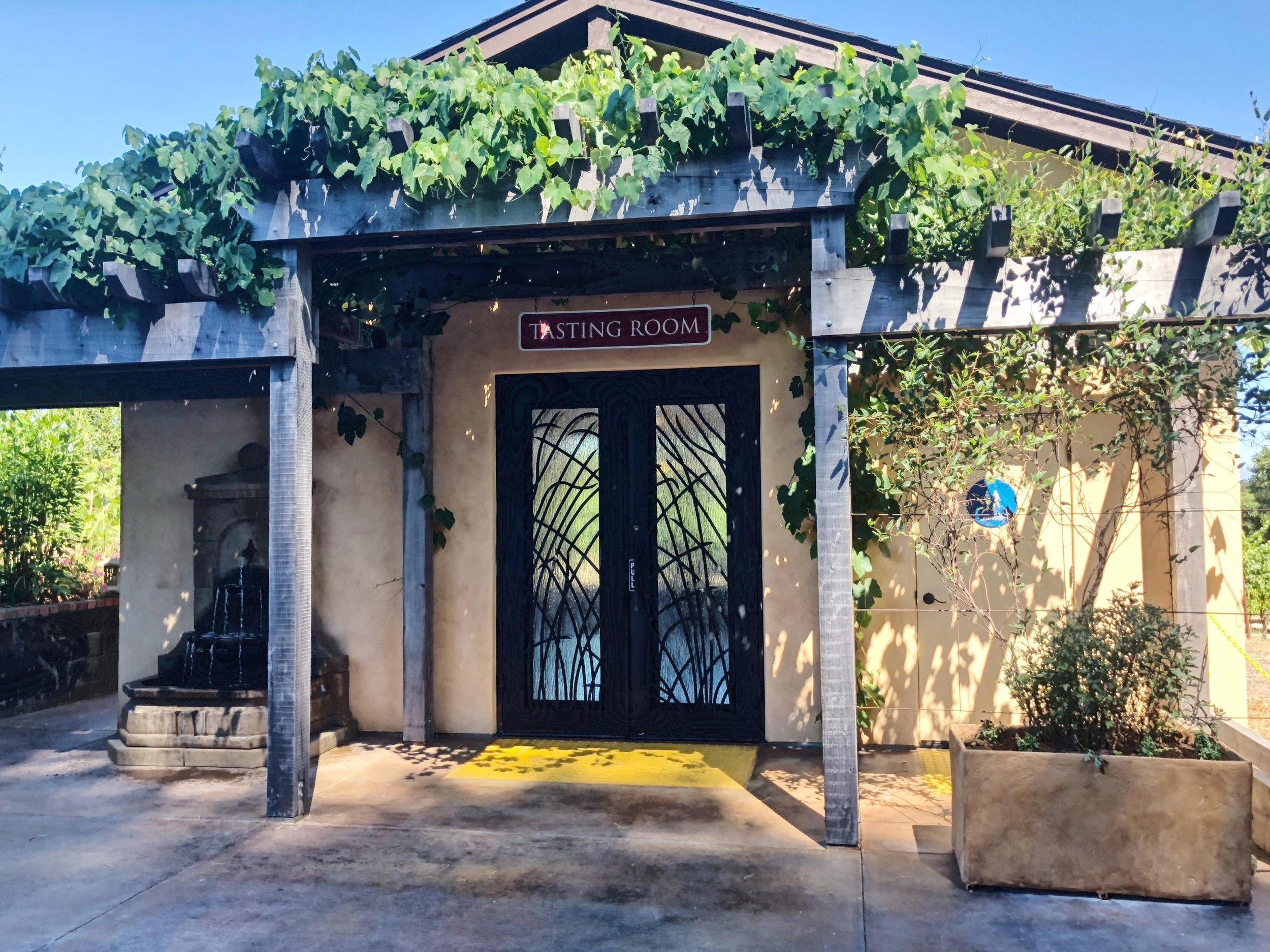 Tasting Room Square Peg Winery Occidental