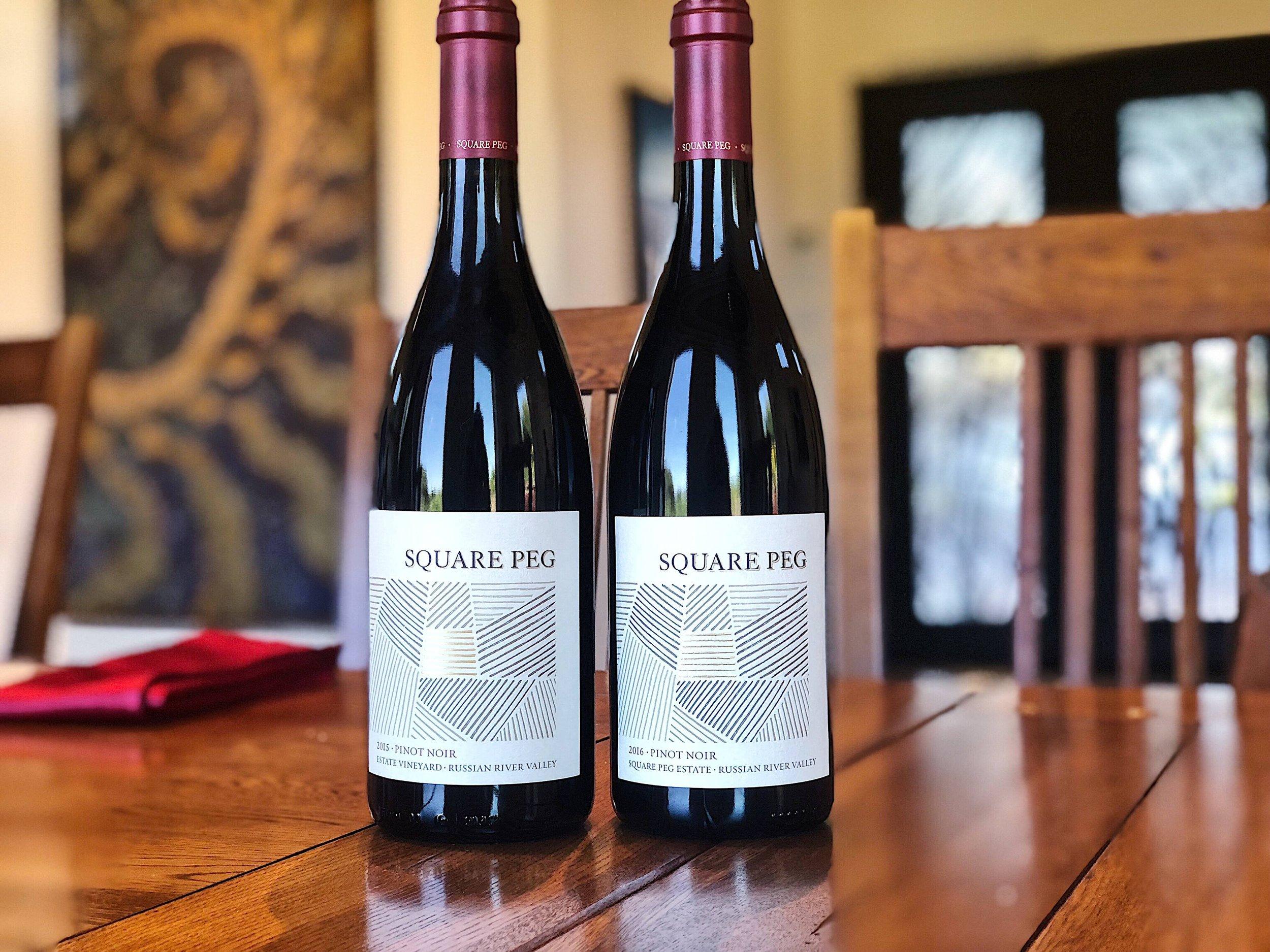 Square Peg Winery Pinot Noir