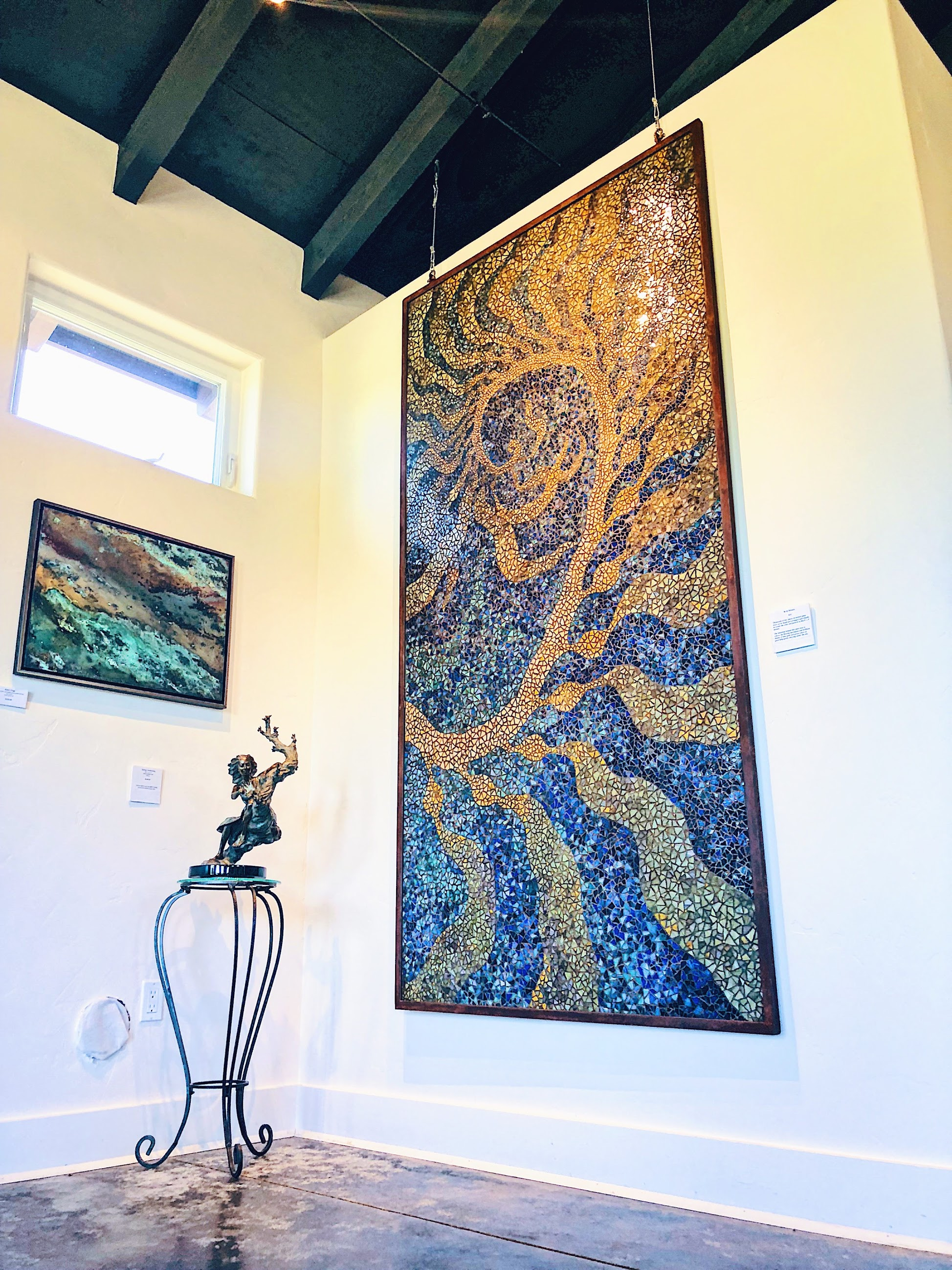 Alanna Roth Mosaic Square Peg Winery