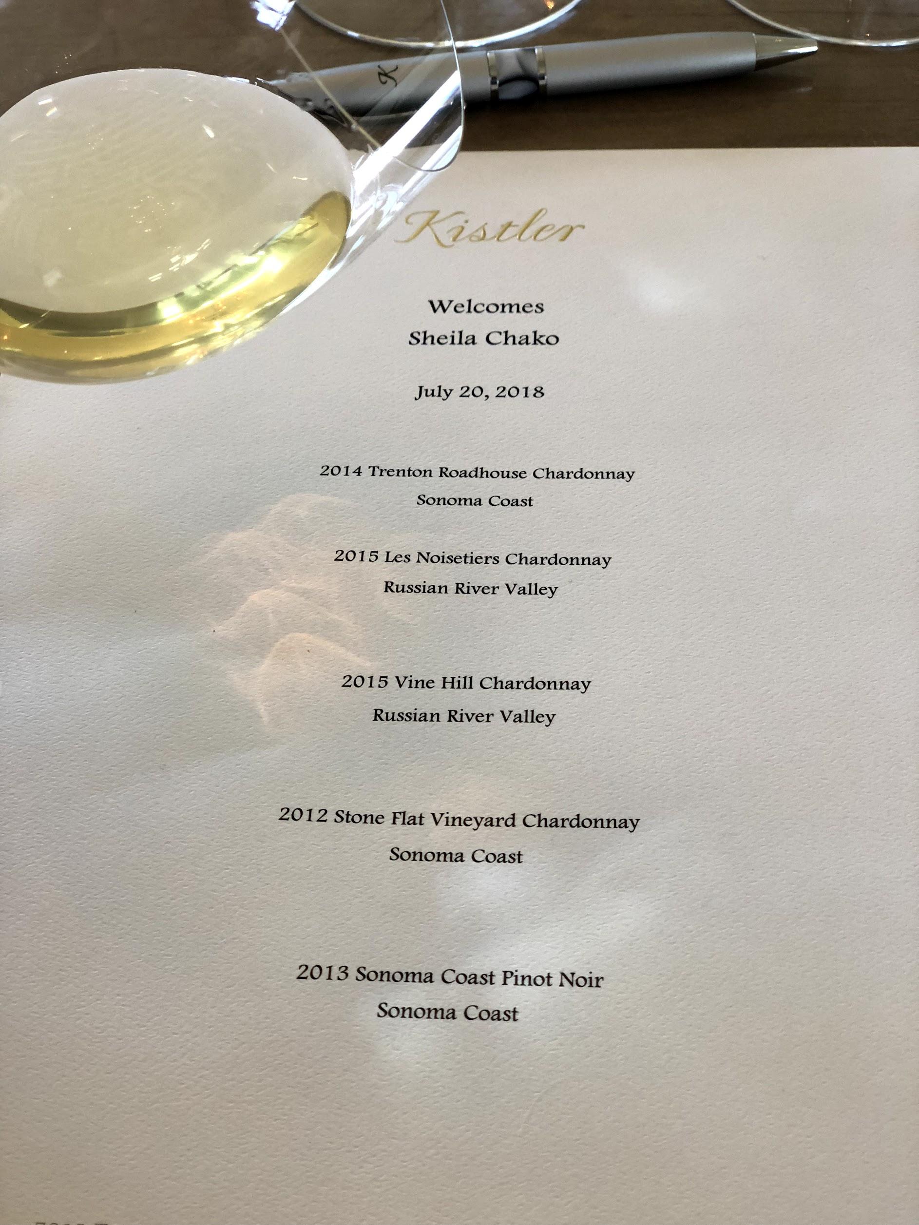 Sonoma Wine Life And Vista Grape Kathy At Kistler