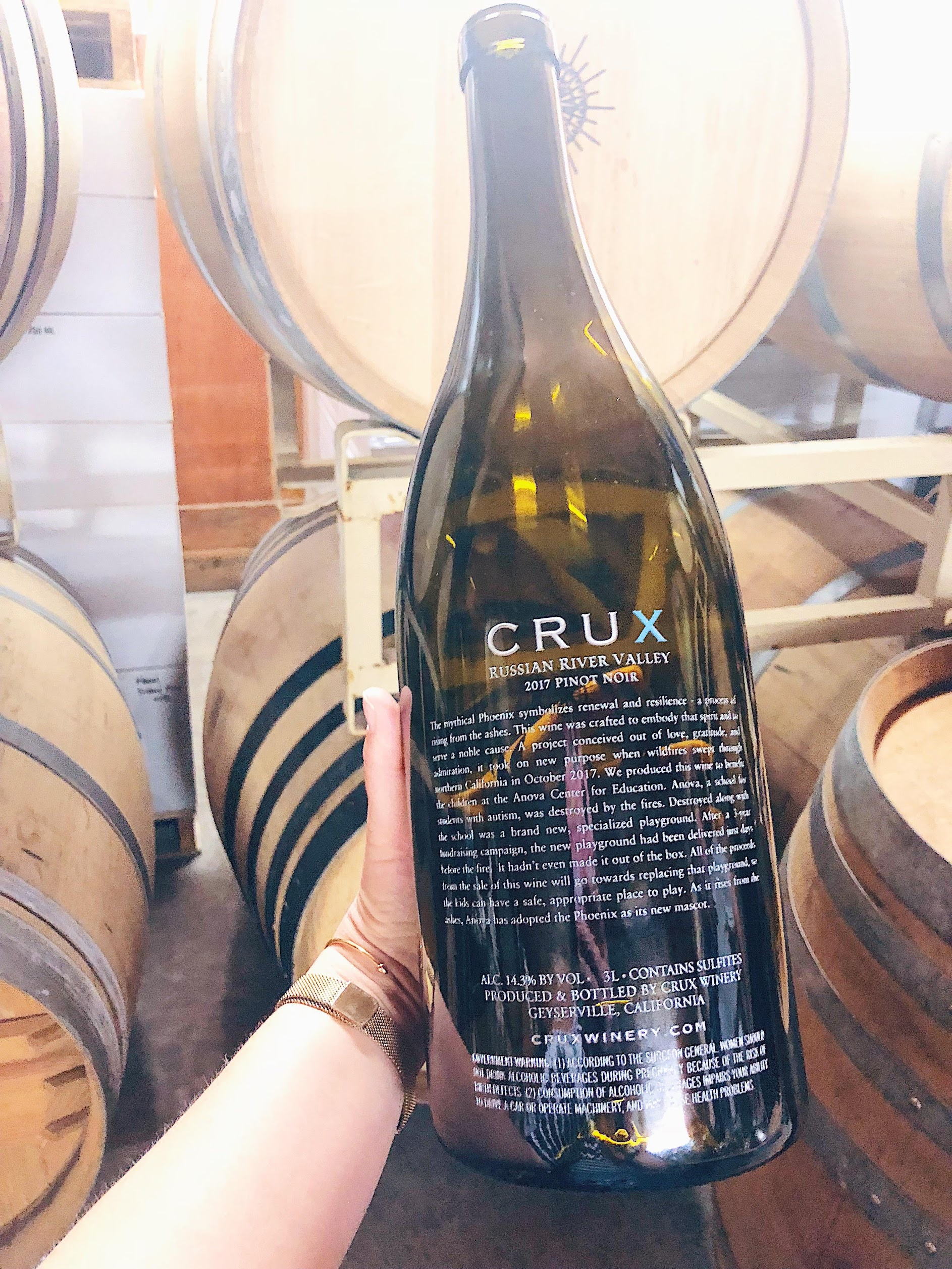 Crux Winery Russian River Valley