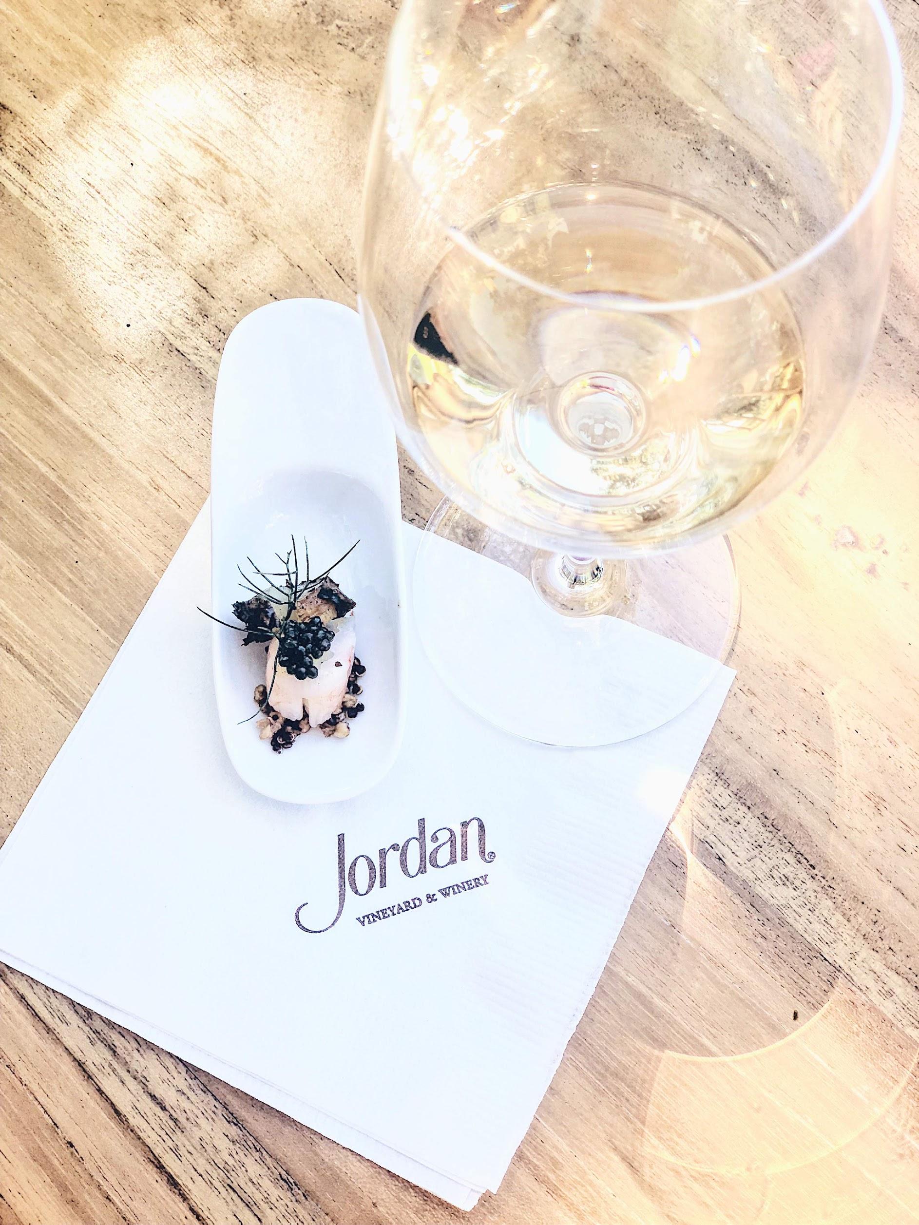 Caviar And Chardonnay At Jordan Winery