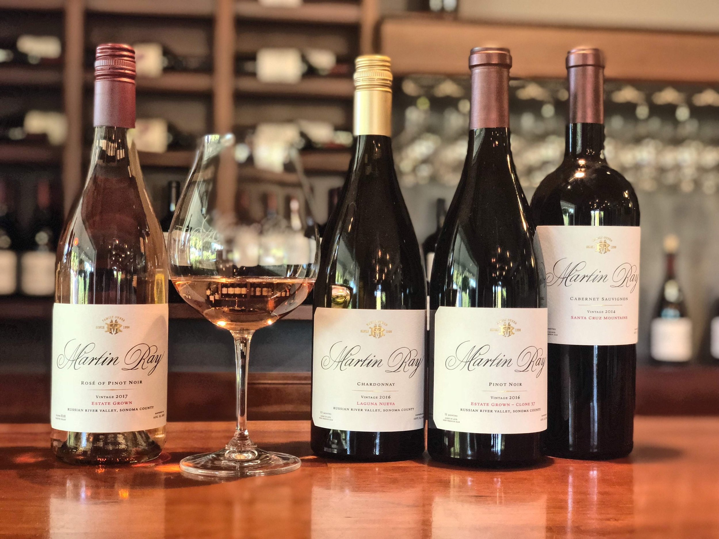 Chardonnay, Pinot Noir, Cabernet At Martin Ray
