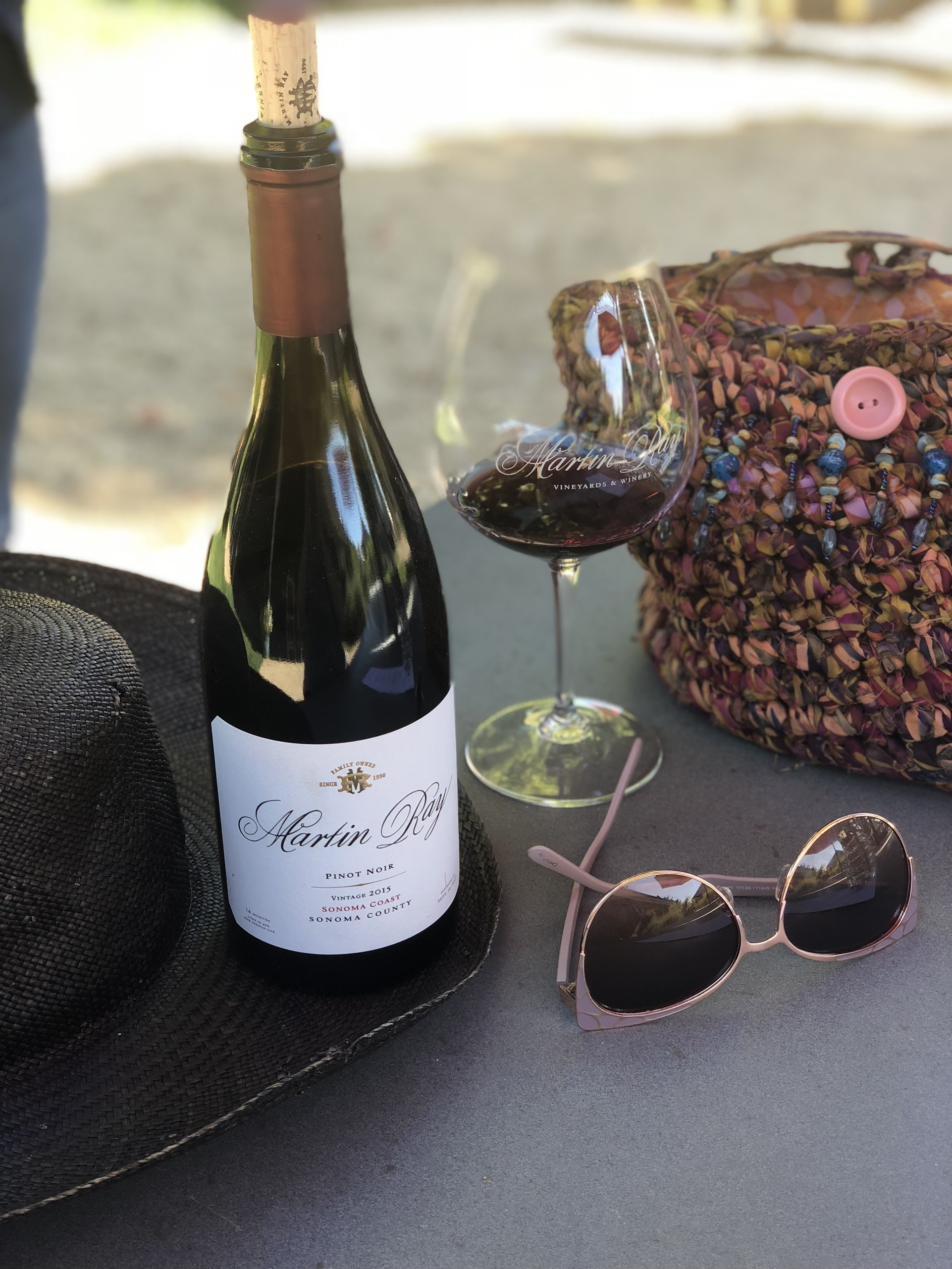 Courtney Winemaking At Martin Ray