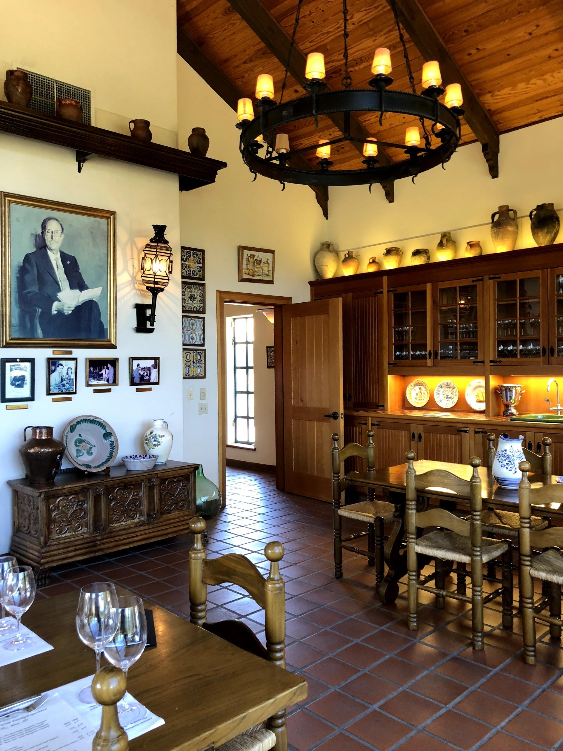Marimar Catalan Winery Decor