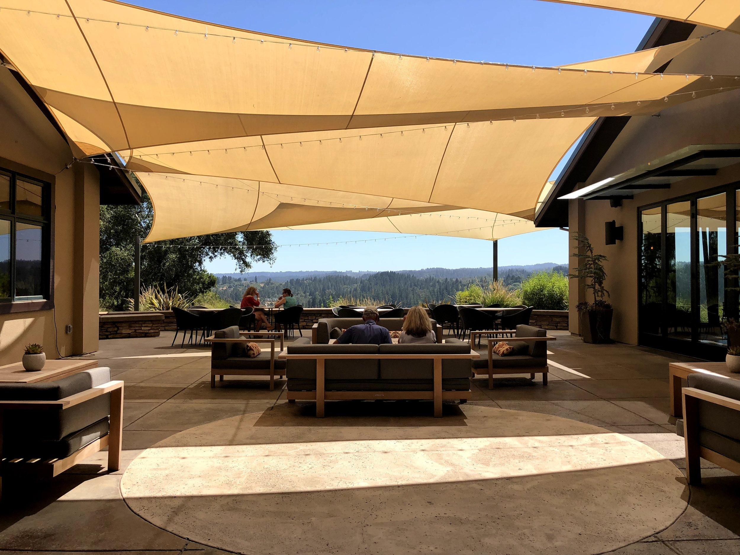 Patio Terrace At Gary Farrell