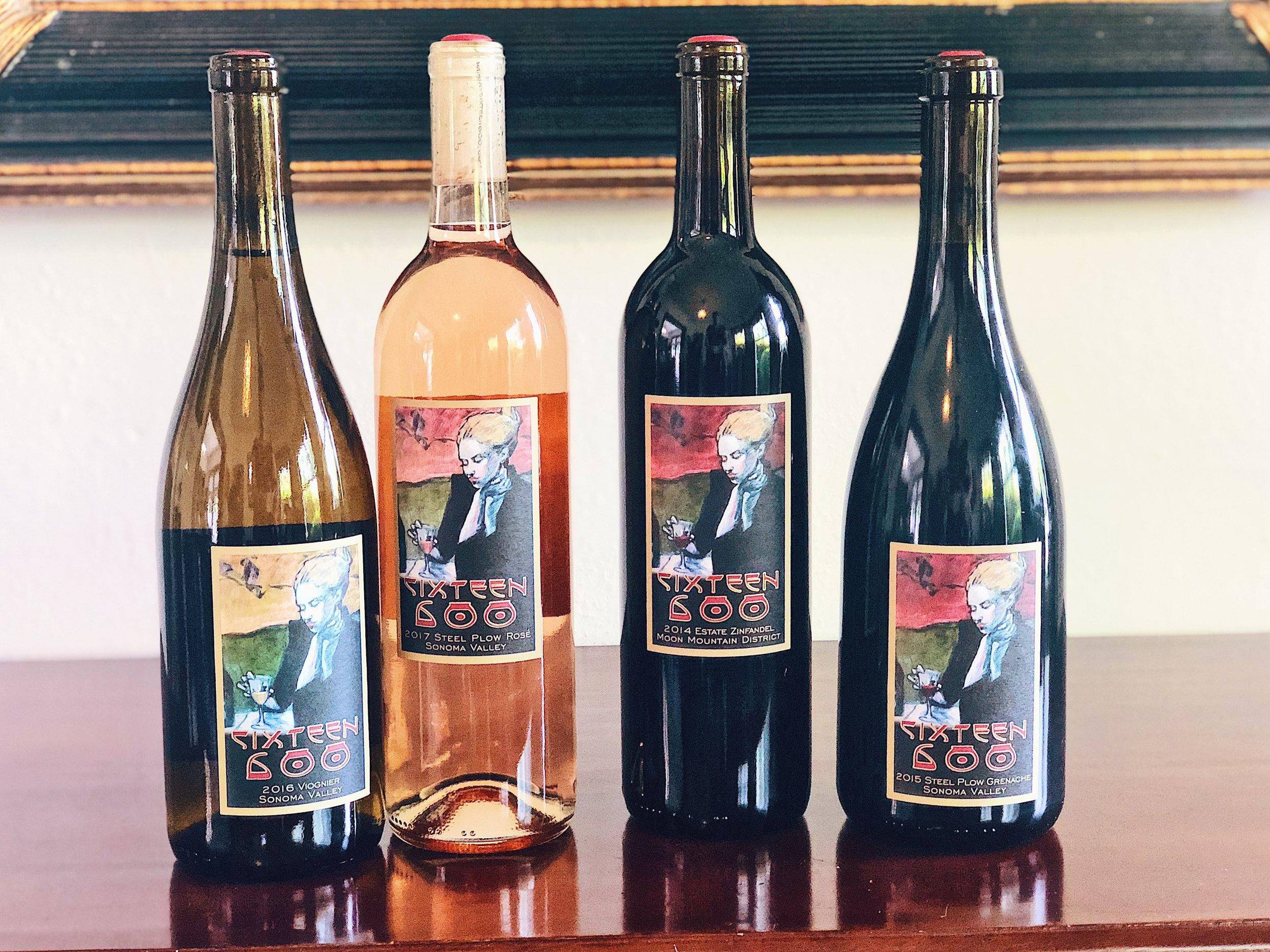Winery Sixteen 600 Wine Bottles