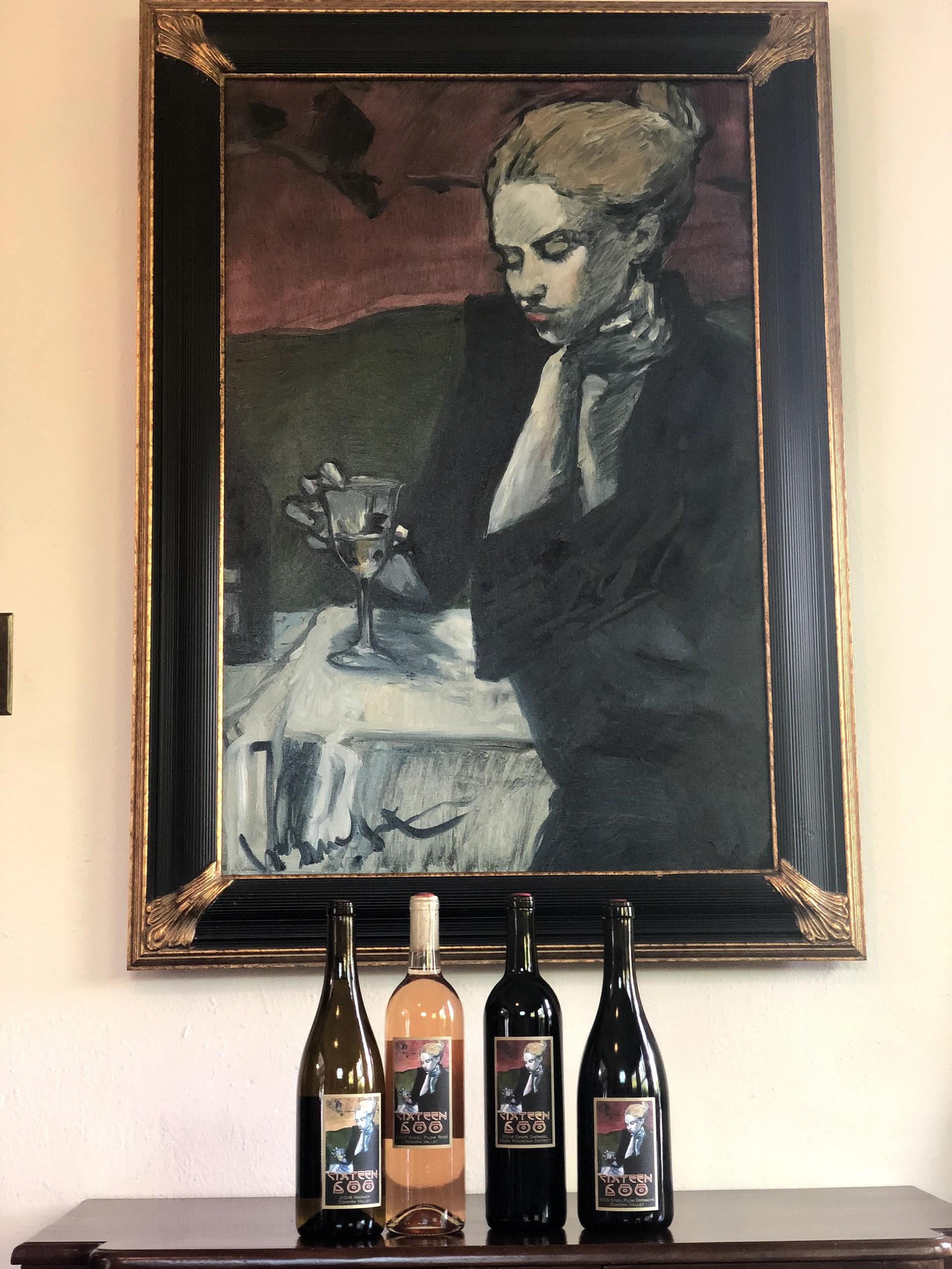 Sonoma County Winery Sixteen 600
