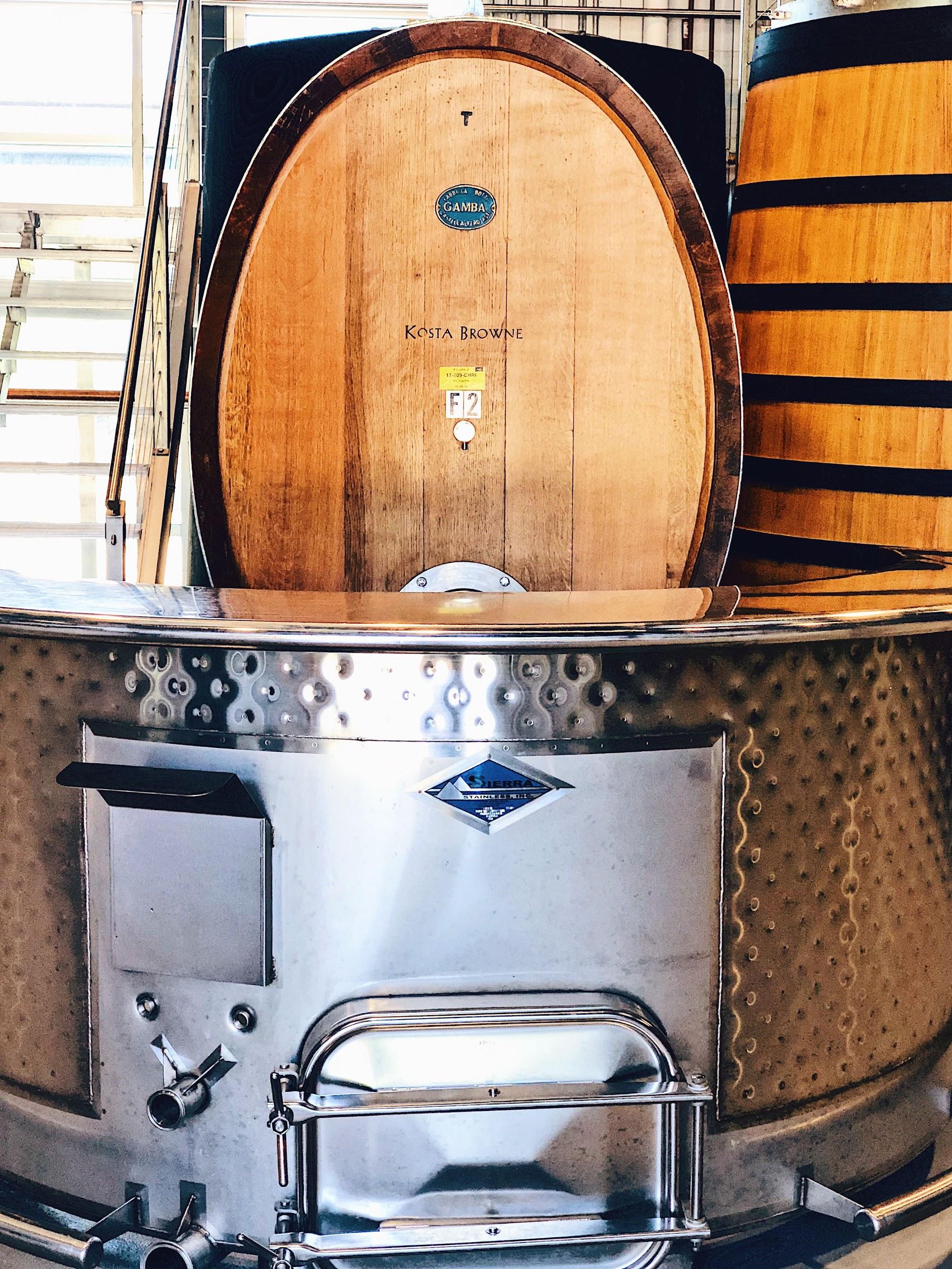 Kosta Browne Wine Barrels