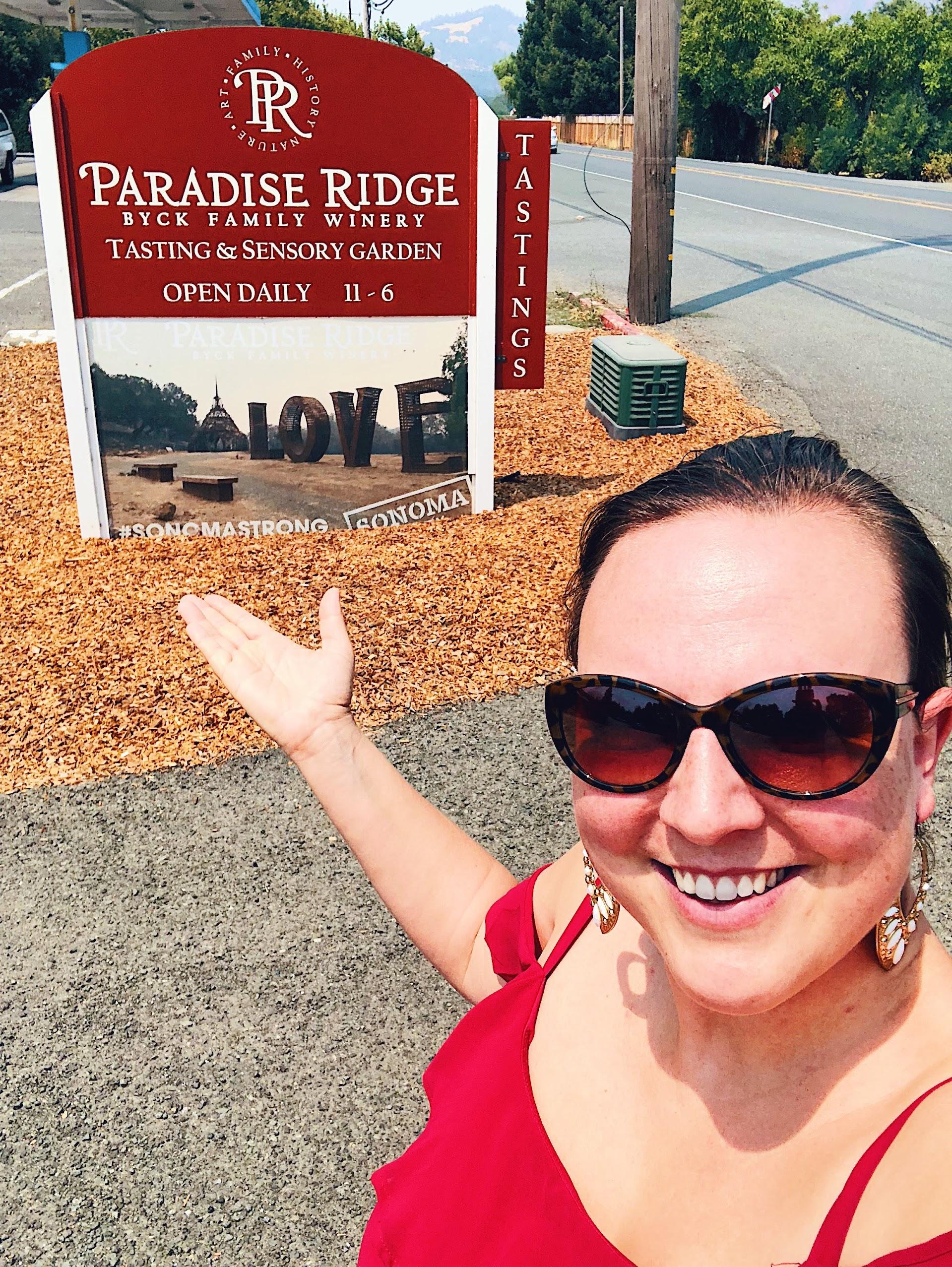 Paradise Ridge Winery Kenwood Tasting Room
