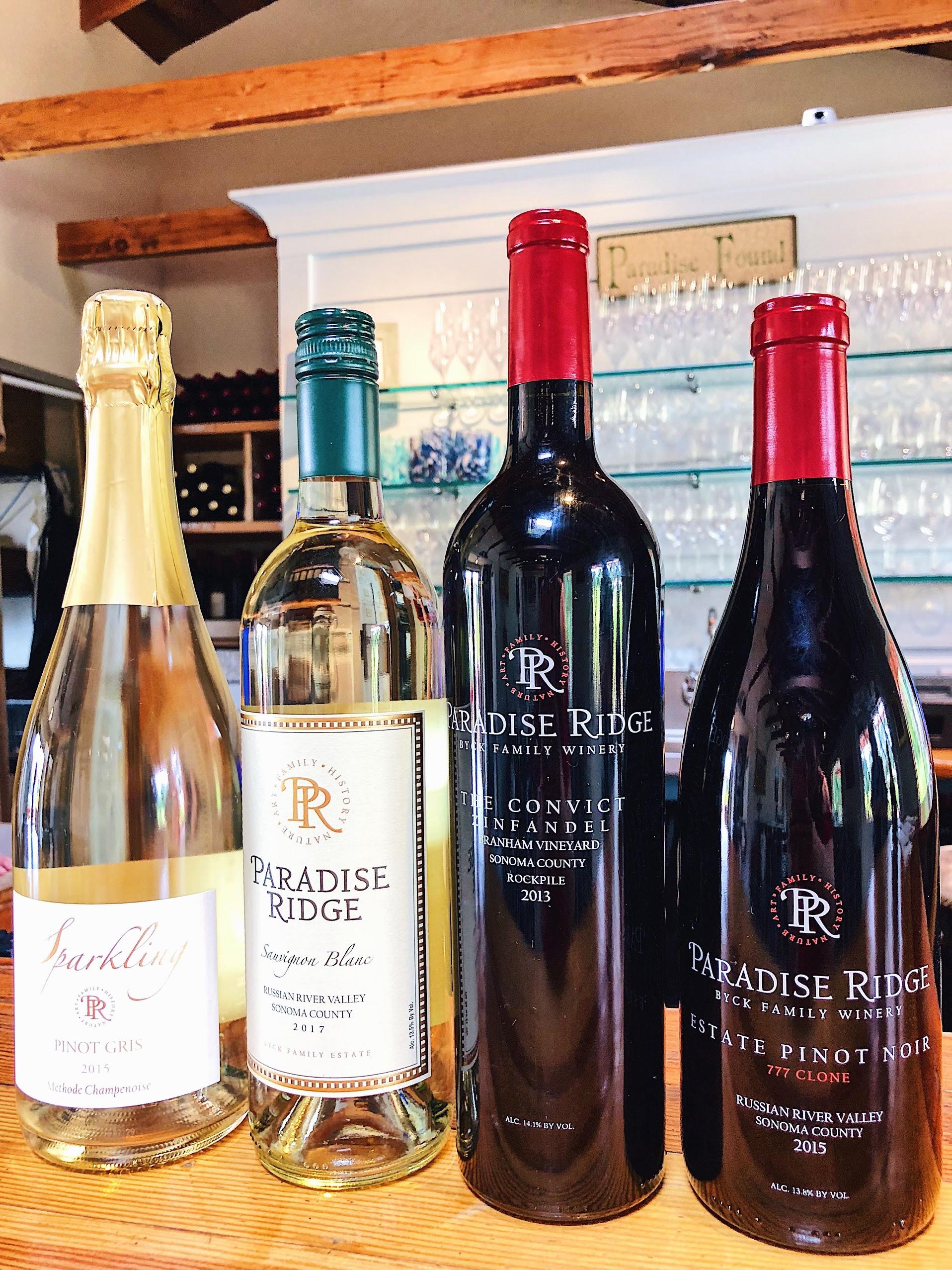 Paradise Ridge Wine Sparkling Sauvignon Blanc Pinot