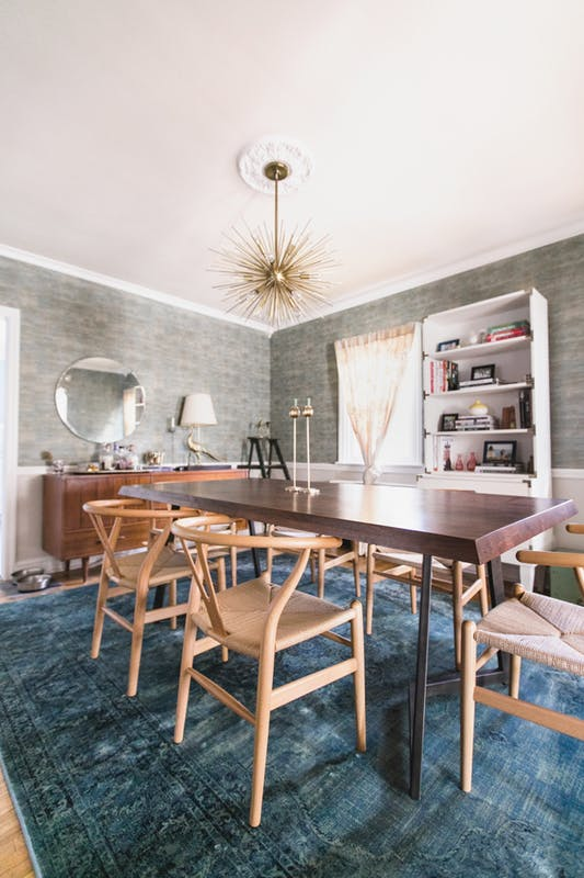 Michelle Gage // Before + After: My Dining Room