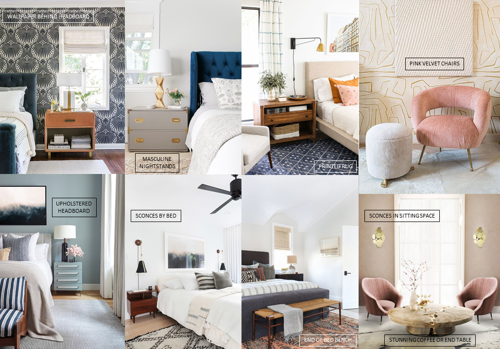 Michelle Gage // Home Concepts: Our Master Bedroom, Living Room + Studio Space