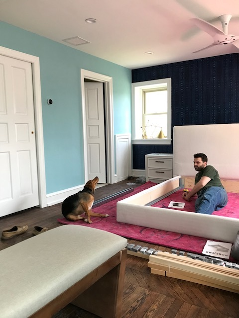 Michelle Gage // One Room Challenge: I Finally Have Progress Pictures