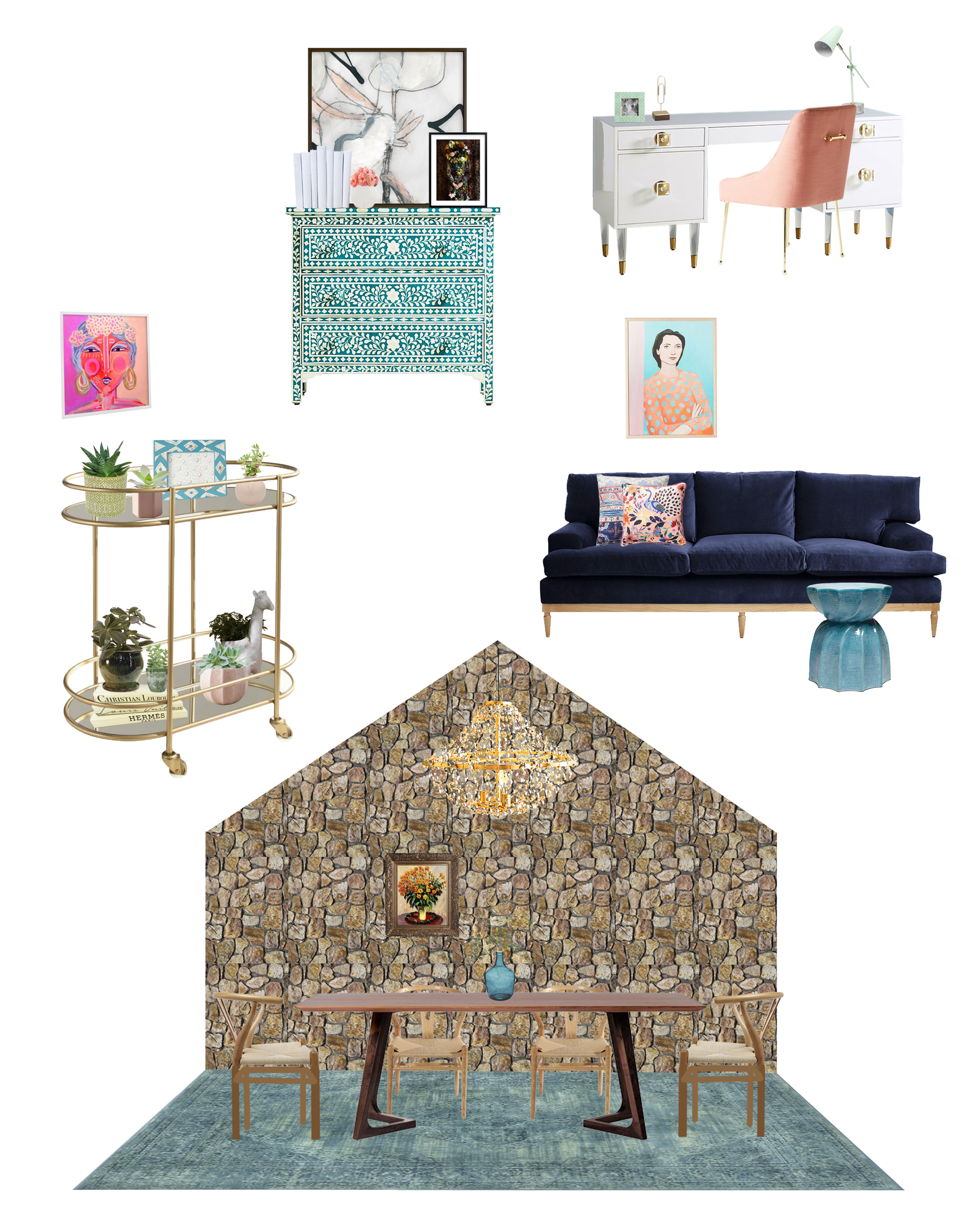 Michelle Gage // Get The Look: My Studio Space (A Reveal)