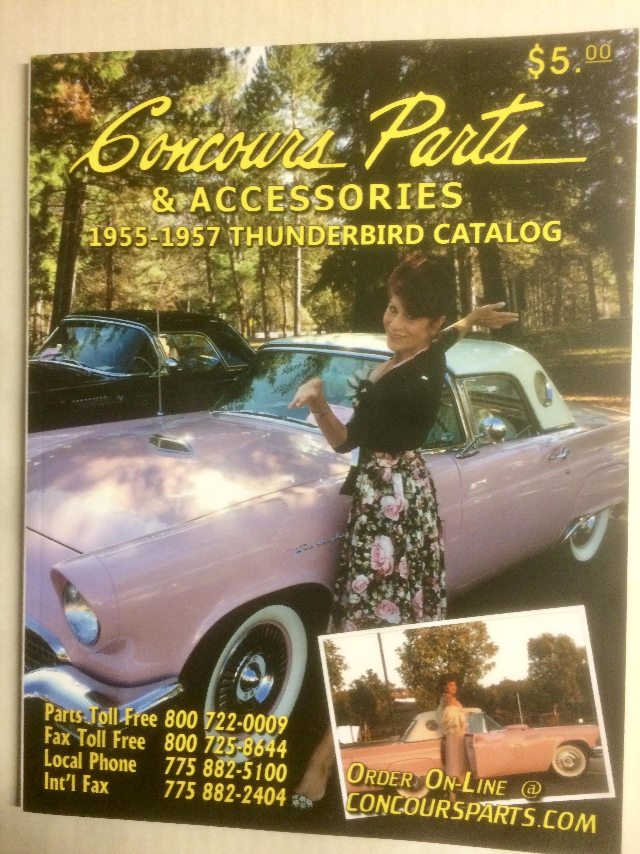 1955-57 Thunderbird
