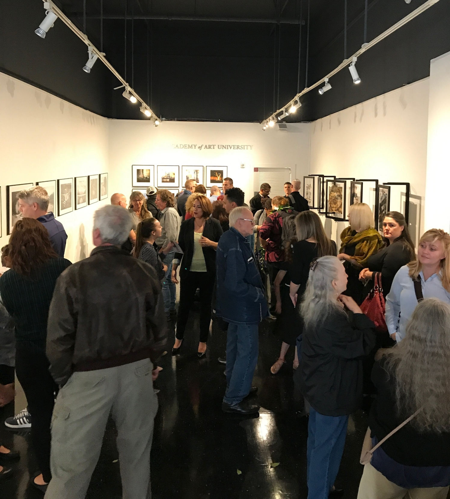 Opening reception, May 8, 2018.